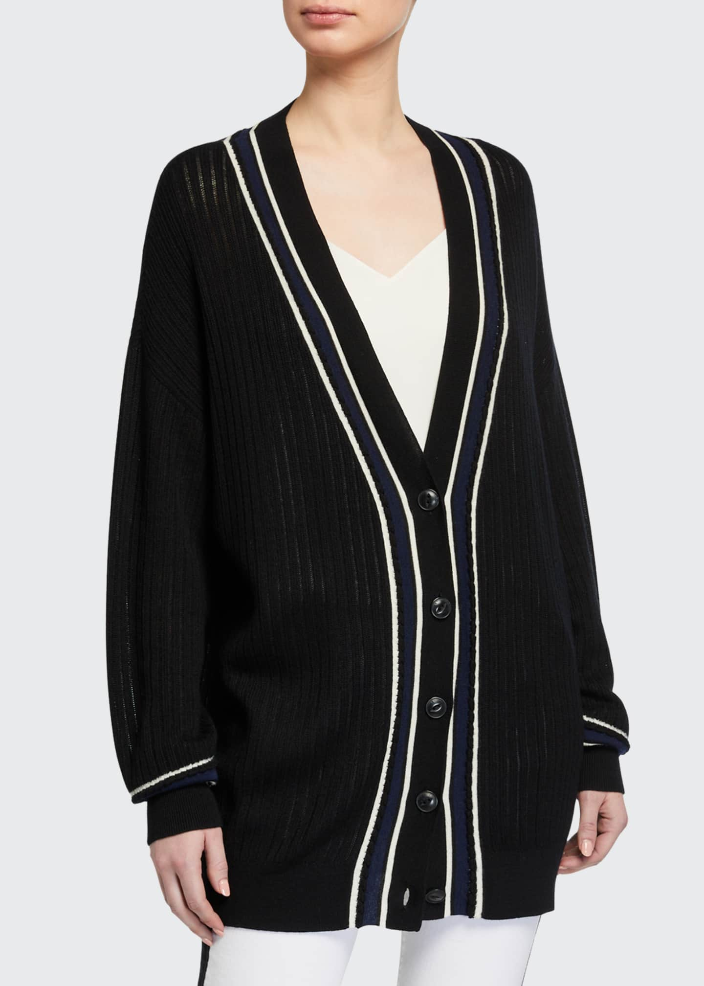 Image 2 of 2: Dianna Oversized Cardigan