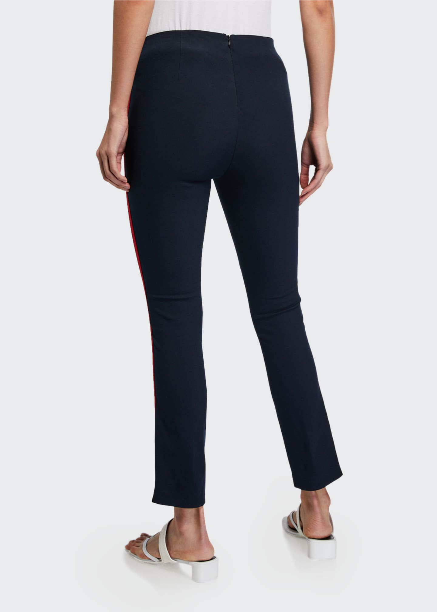 Image 2 of 3: Simone Side-Stripe Pants with Zip Pockets