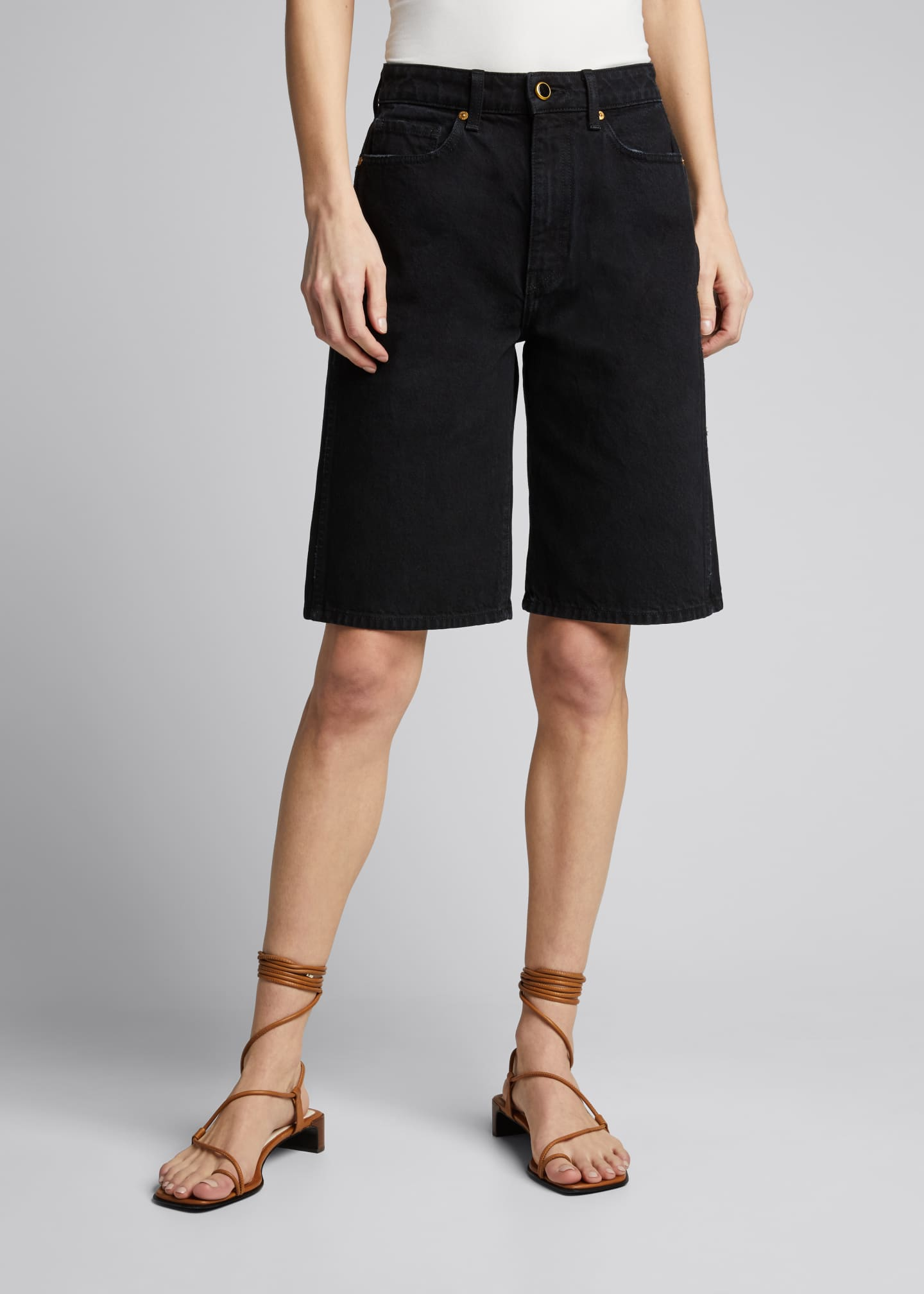 Image 3 of 5: Mitch Denim Bermuda Shorts