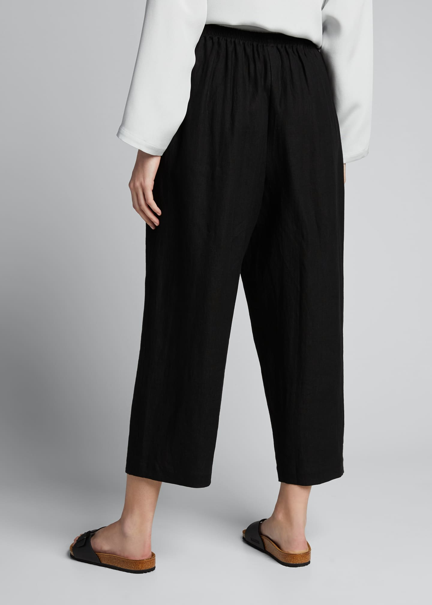 Image 2 of 5: Linen Japanese Trousers