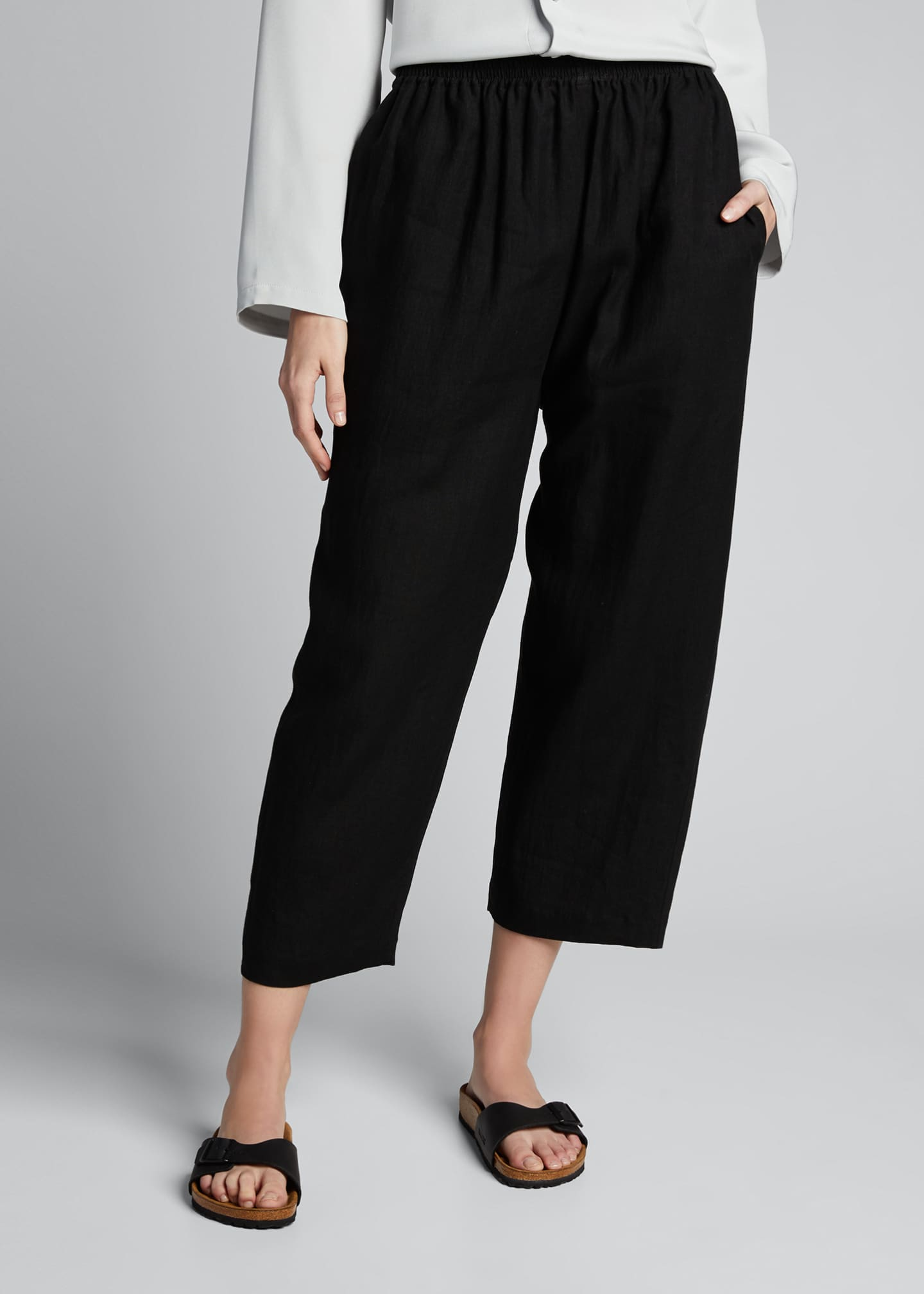 Image 3 of 5: Linen Japanese Trousers