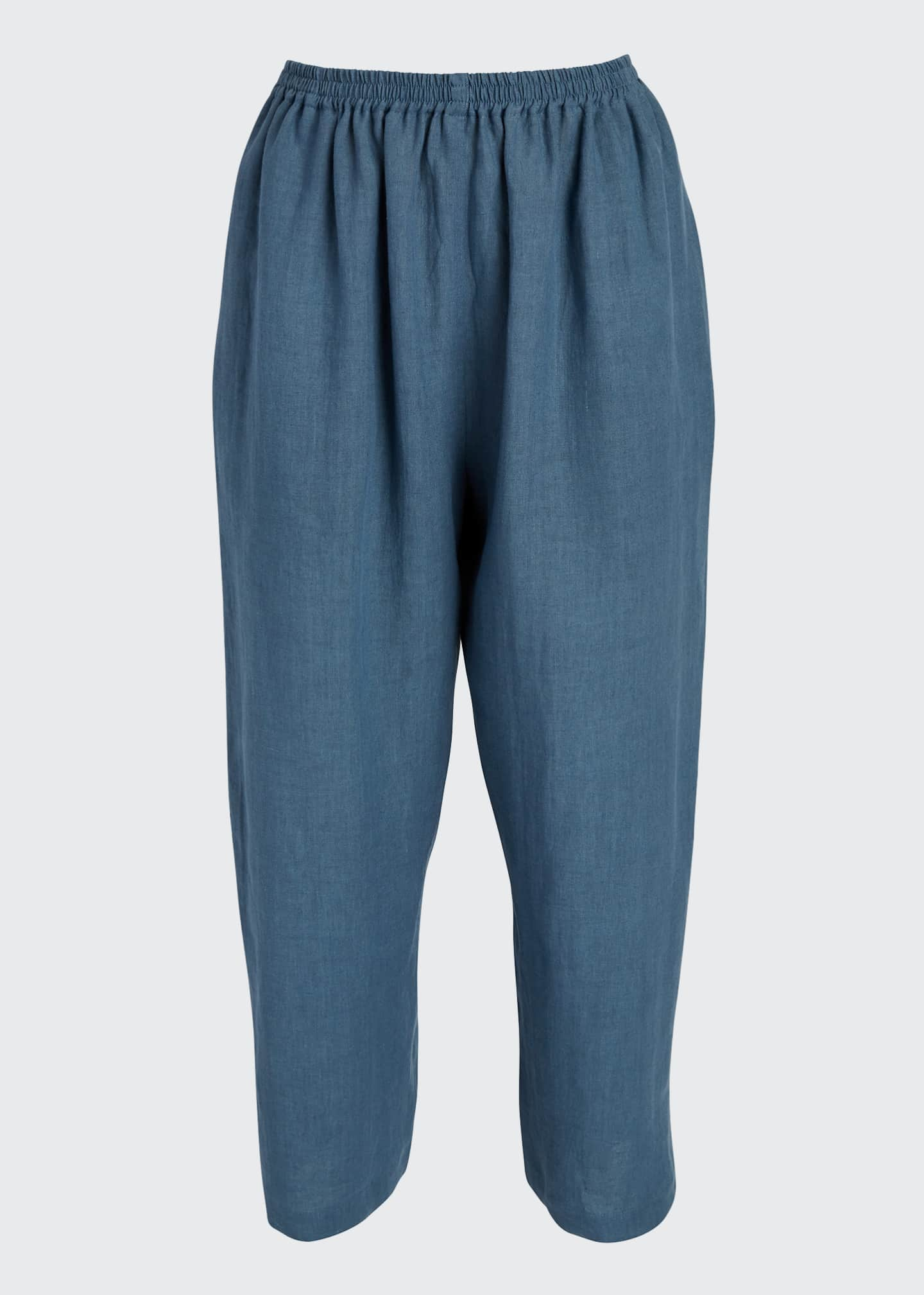 Image 5 of 5: Linen Japanese Trousers