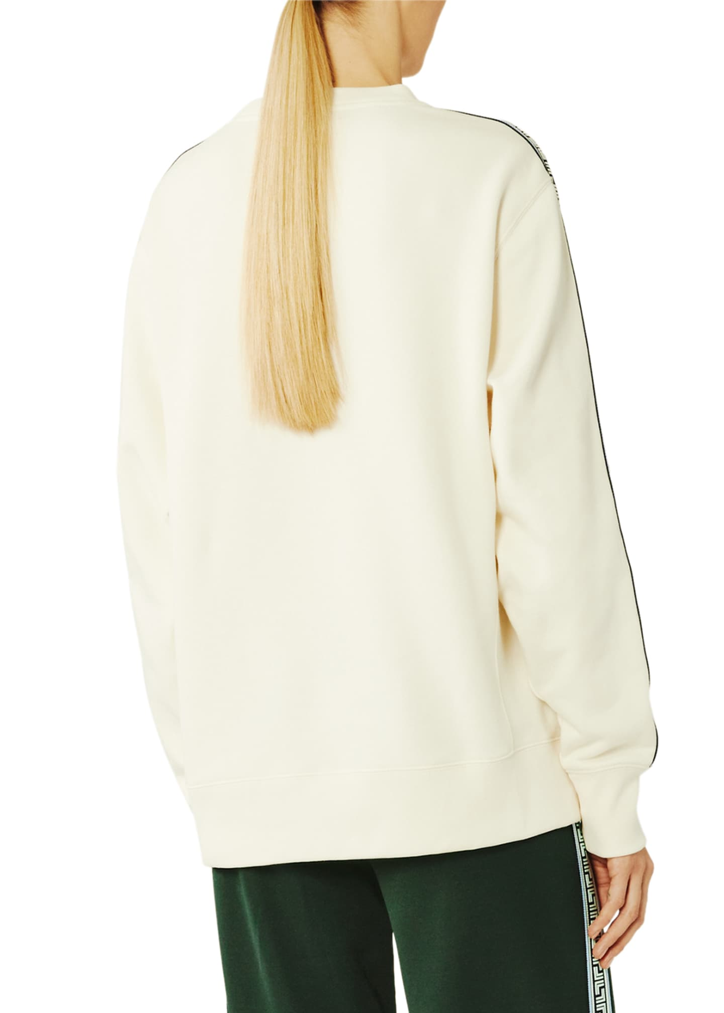 Image 2 of 4: French Terry Geo T Sweatshirt