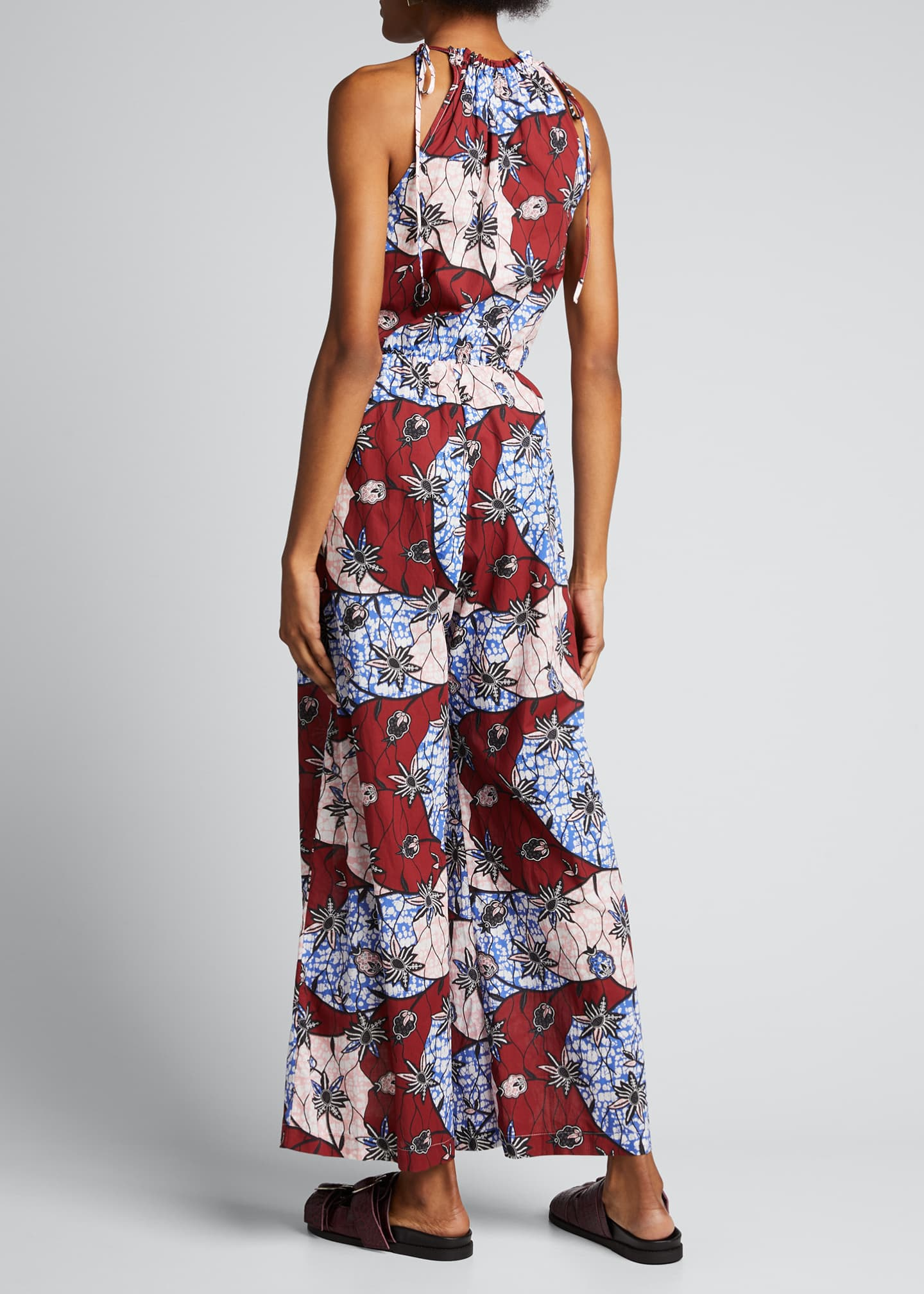 Image 2 of 5: Fernanda Printed Sleeveless Jumpsuit