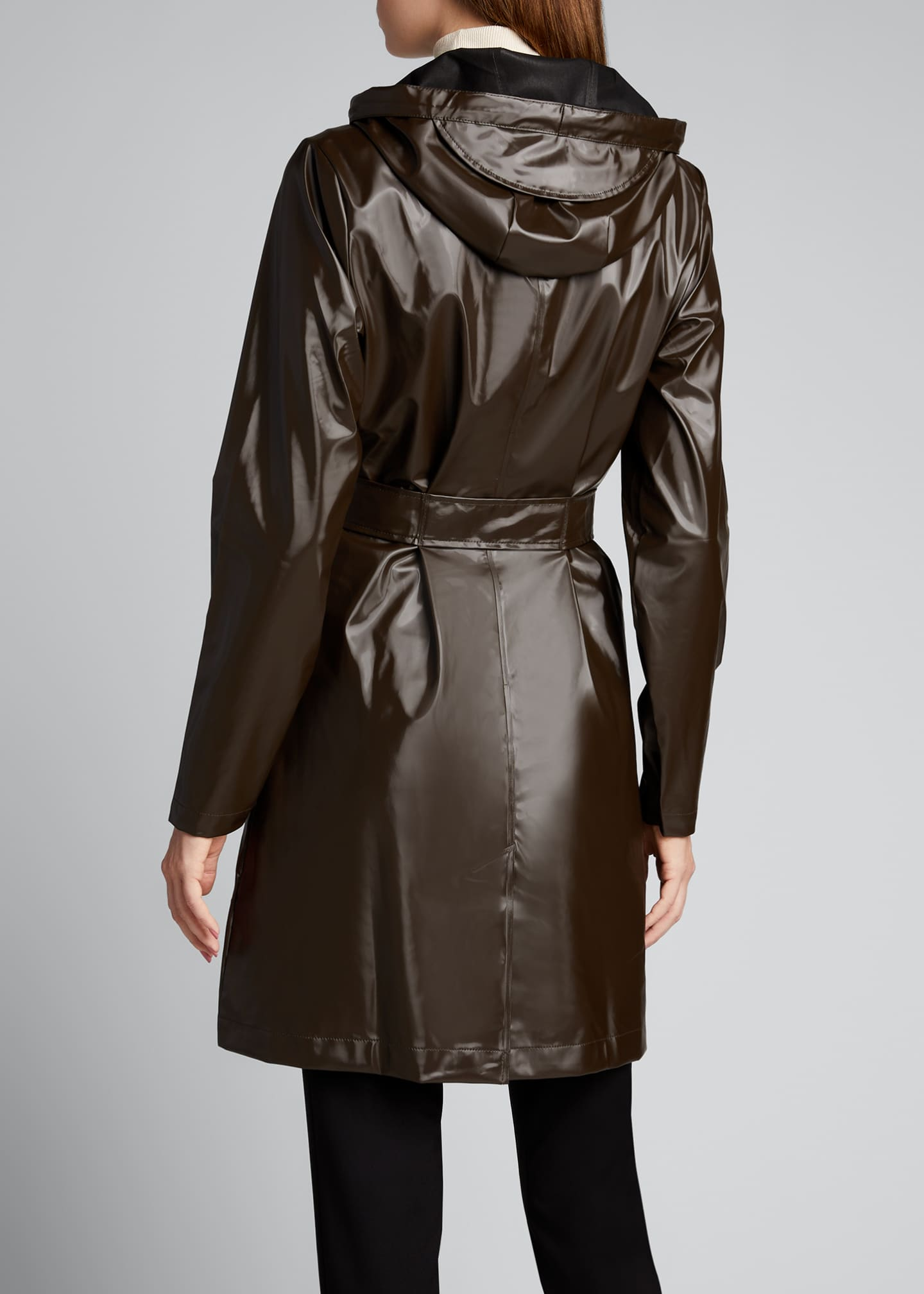 Image 2 of 5: Belted Jacket with Large Pockets