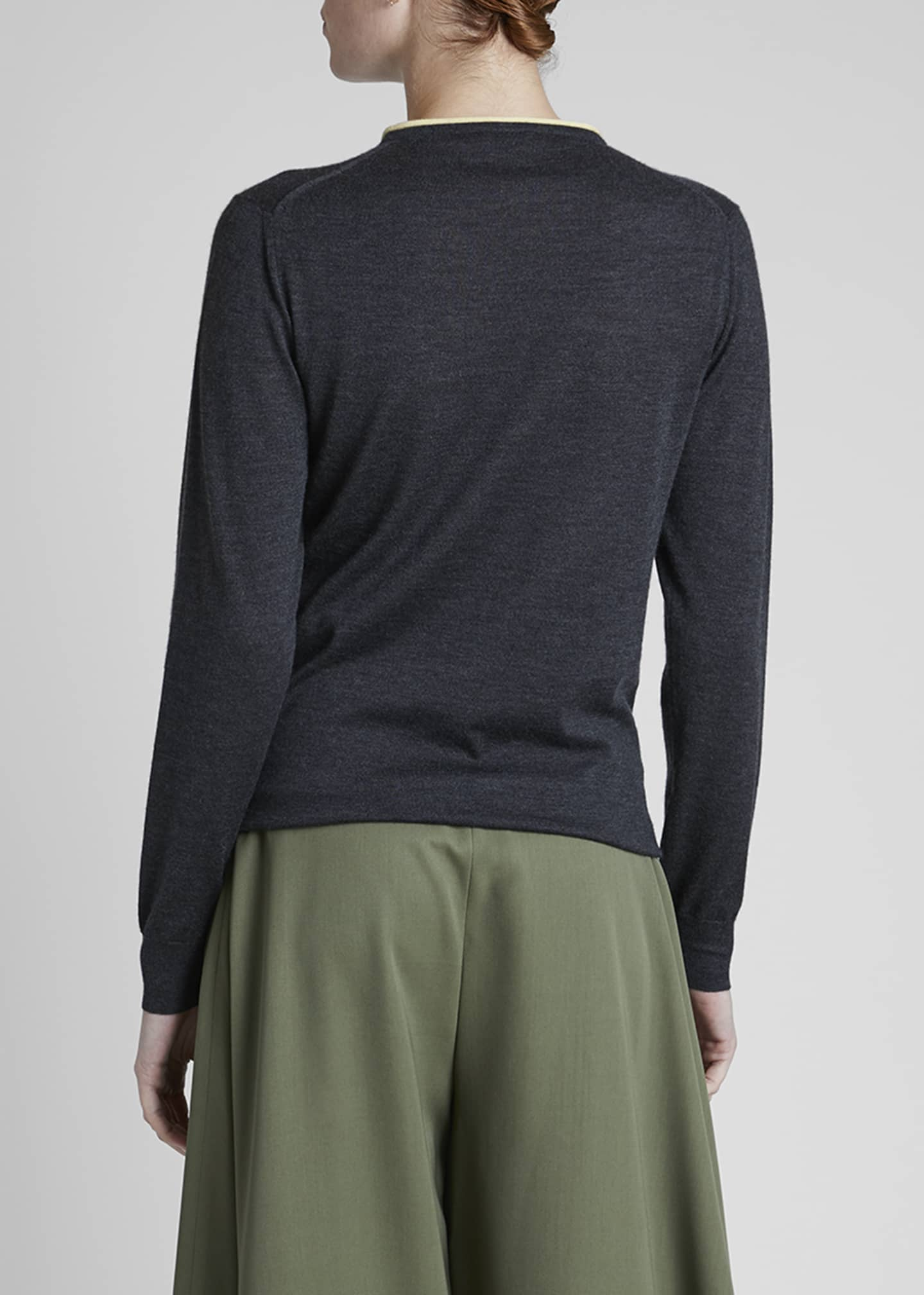 Image 2 of 4: Cashmere Anagram Sweater