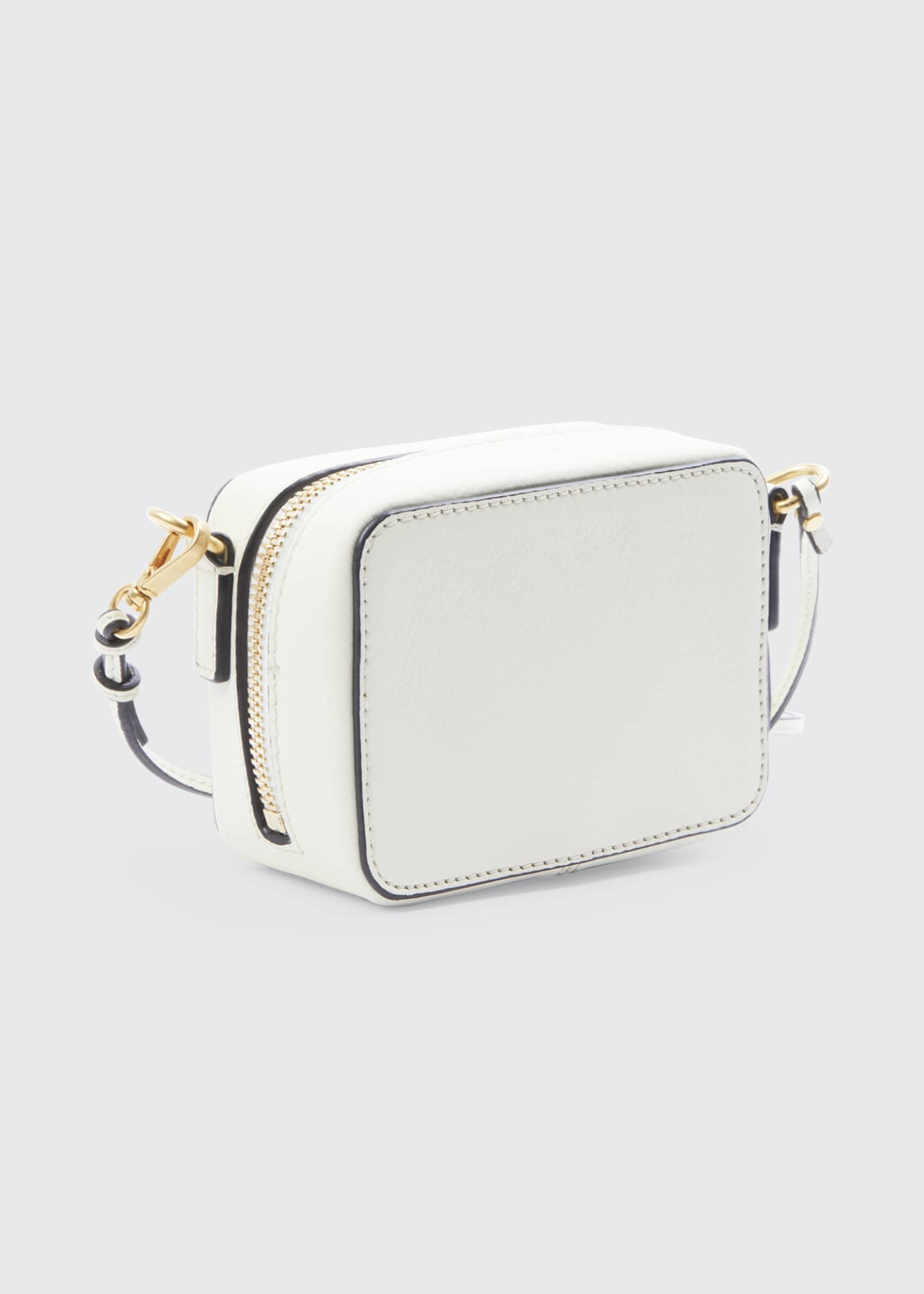 Image 2 of 5: Marcie Mini Leather Crossbody Bag