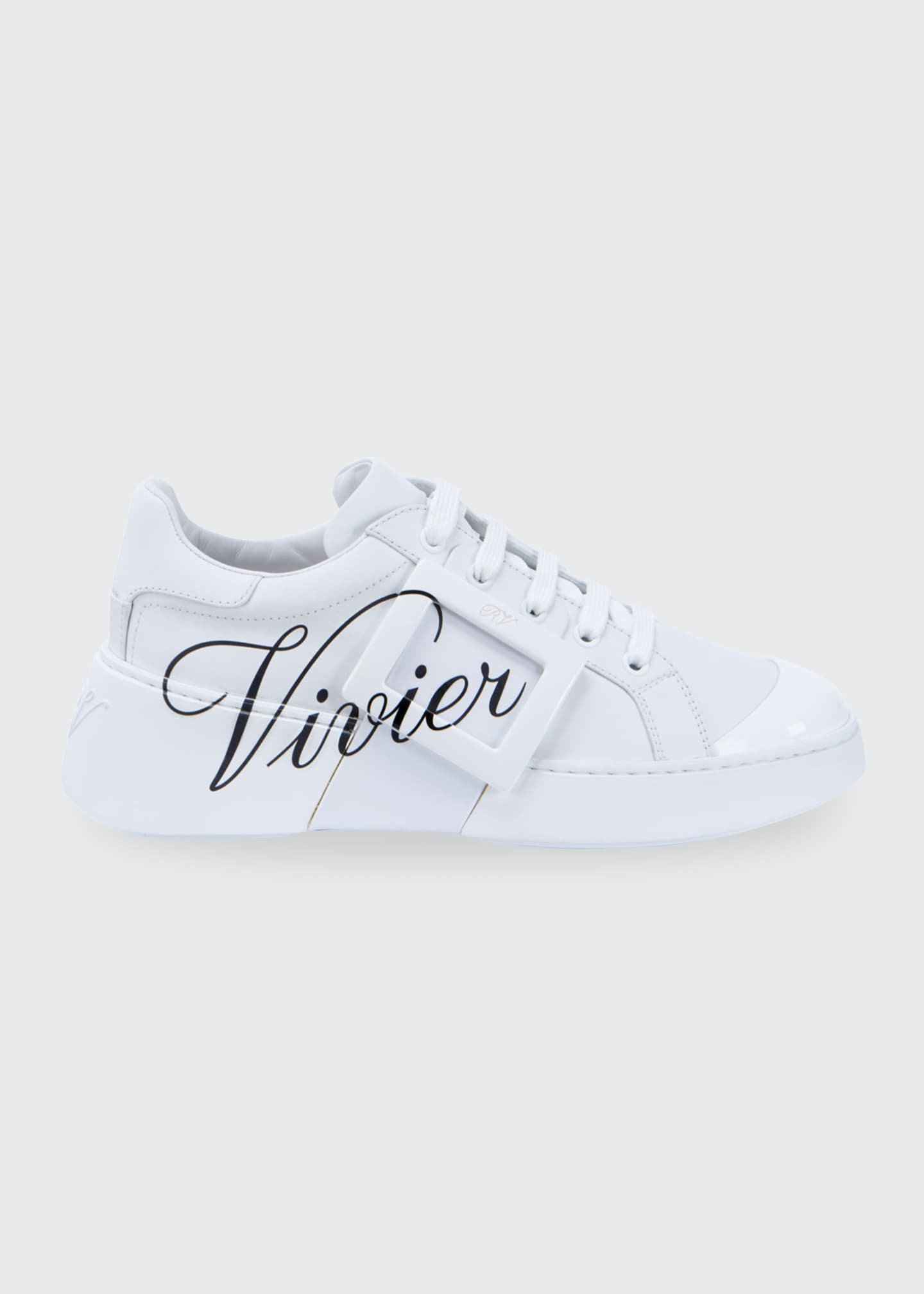 Image 1 of 2: Viv' Skate Call Me Vivier Printed Sneakers