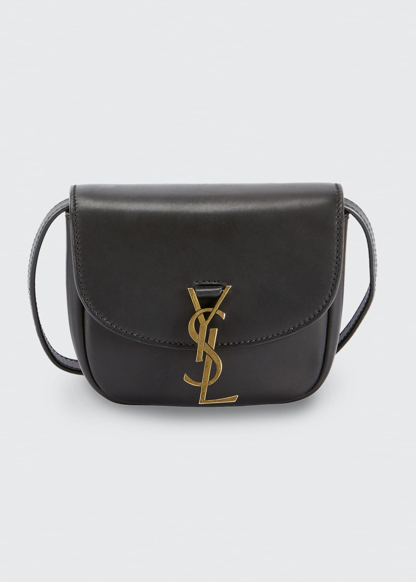Saint Laurent Monogram YSL Medium Flap-Top Leather Crossbody Bag - Bergdorf Goodman