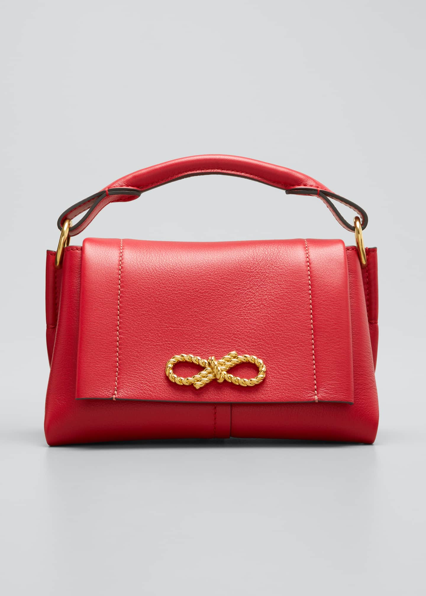 Anya Hindmarch Rope Bow Bag Mini in Soft