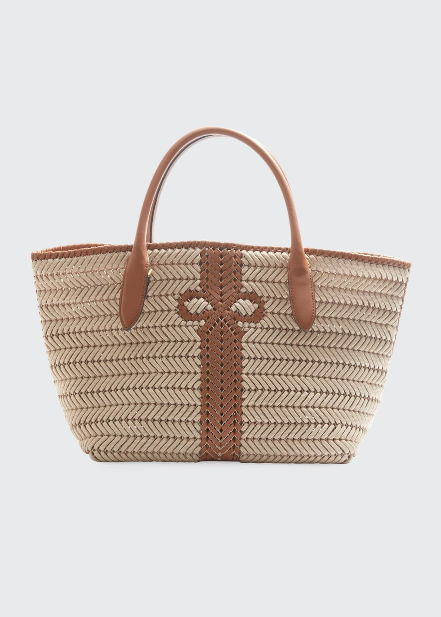 Image 1 of 3: The Neeson Woven Rope Tote Bag