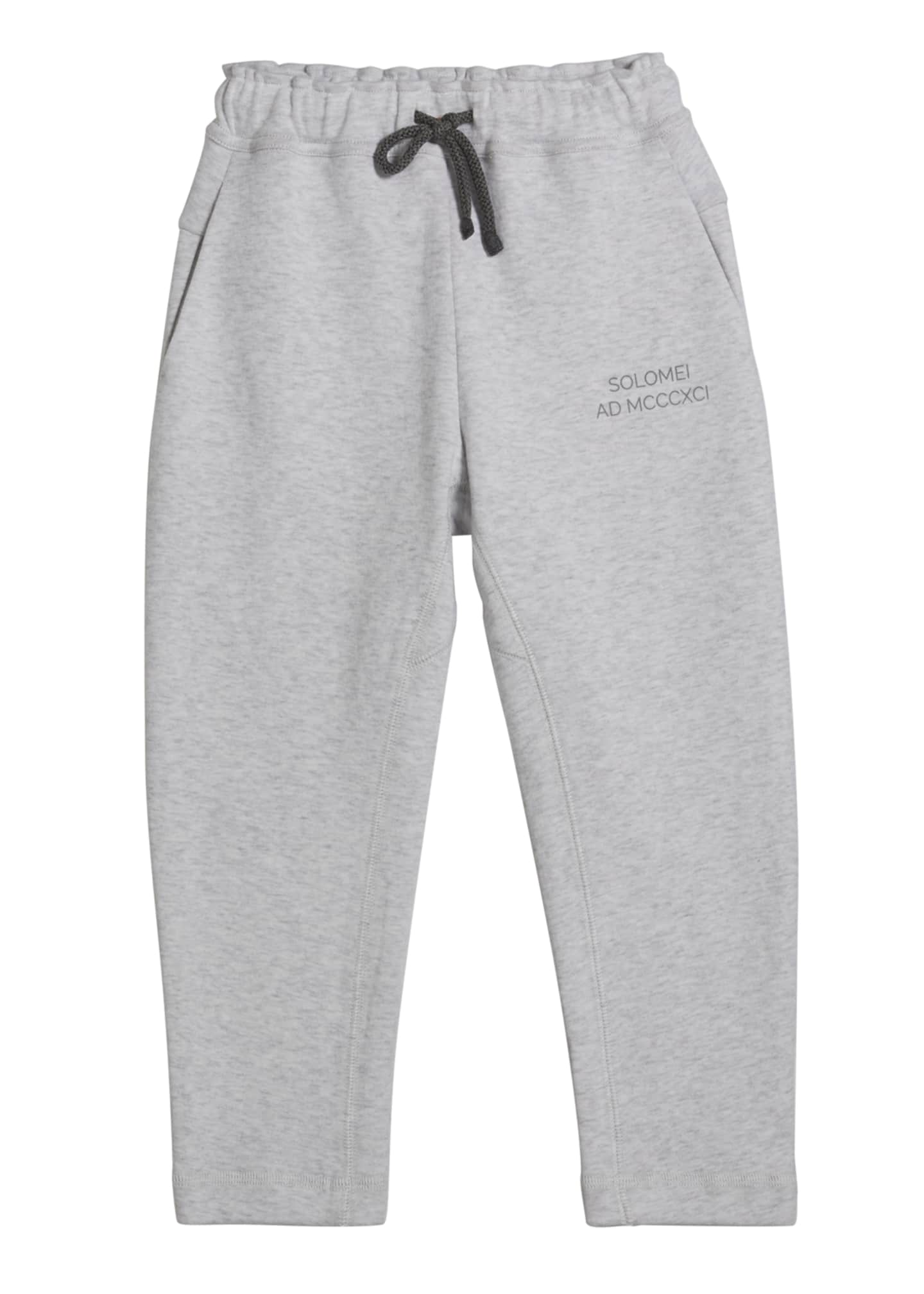 Image 1 of 1: Boy's Drawstring Jogger Pants, Size 4-6