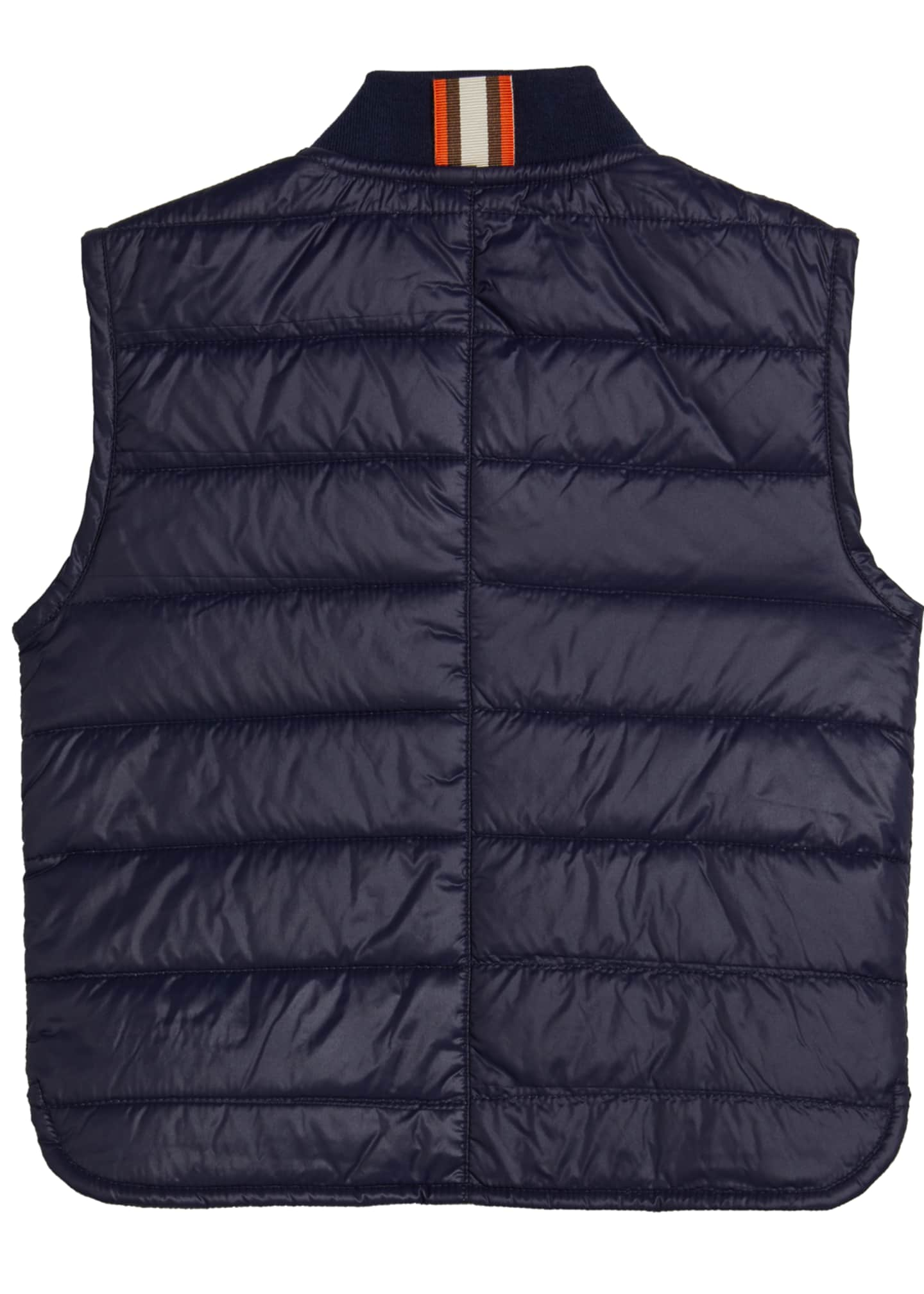 Image 2 of 2: Boy's Quilted Nylon Vest, Size 8-10