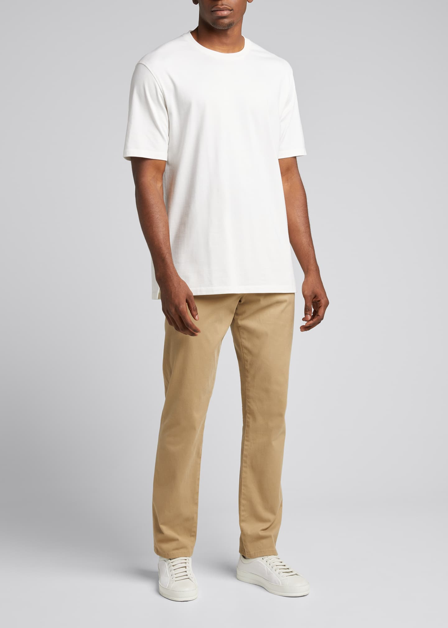 Image 1 of 5: Men's Solid Stretch Tee