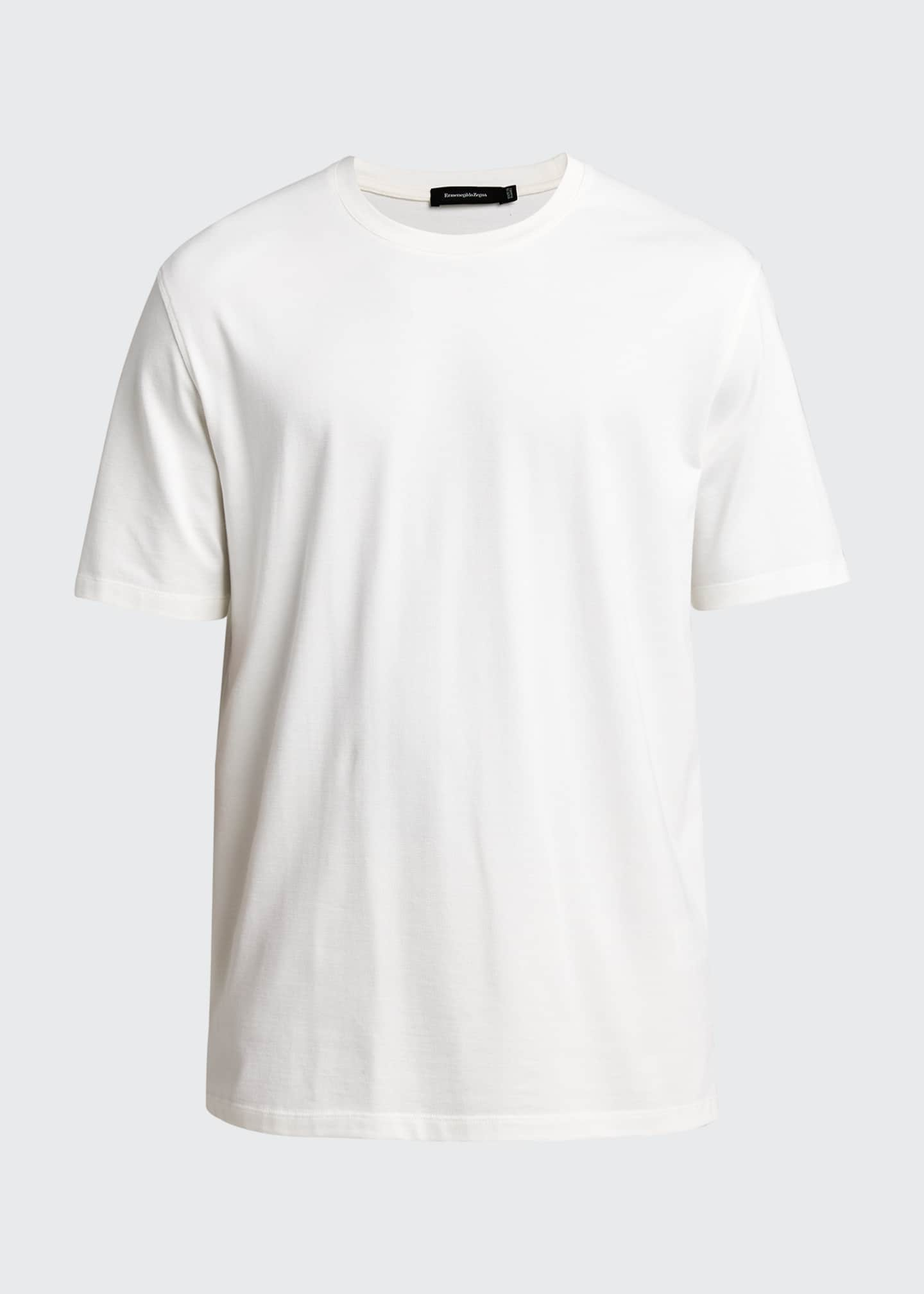 Image 5 of 5: Men's Solid Stretch Tee