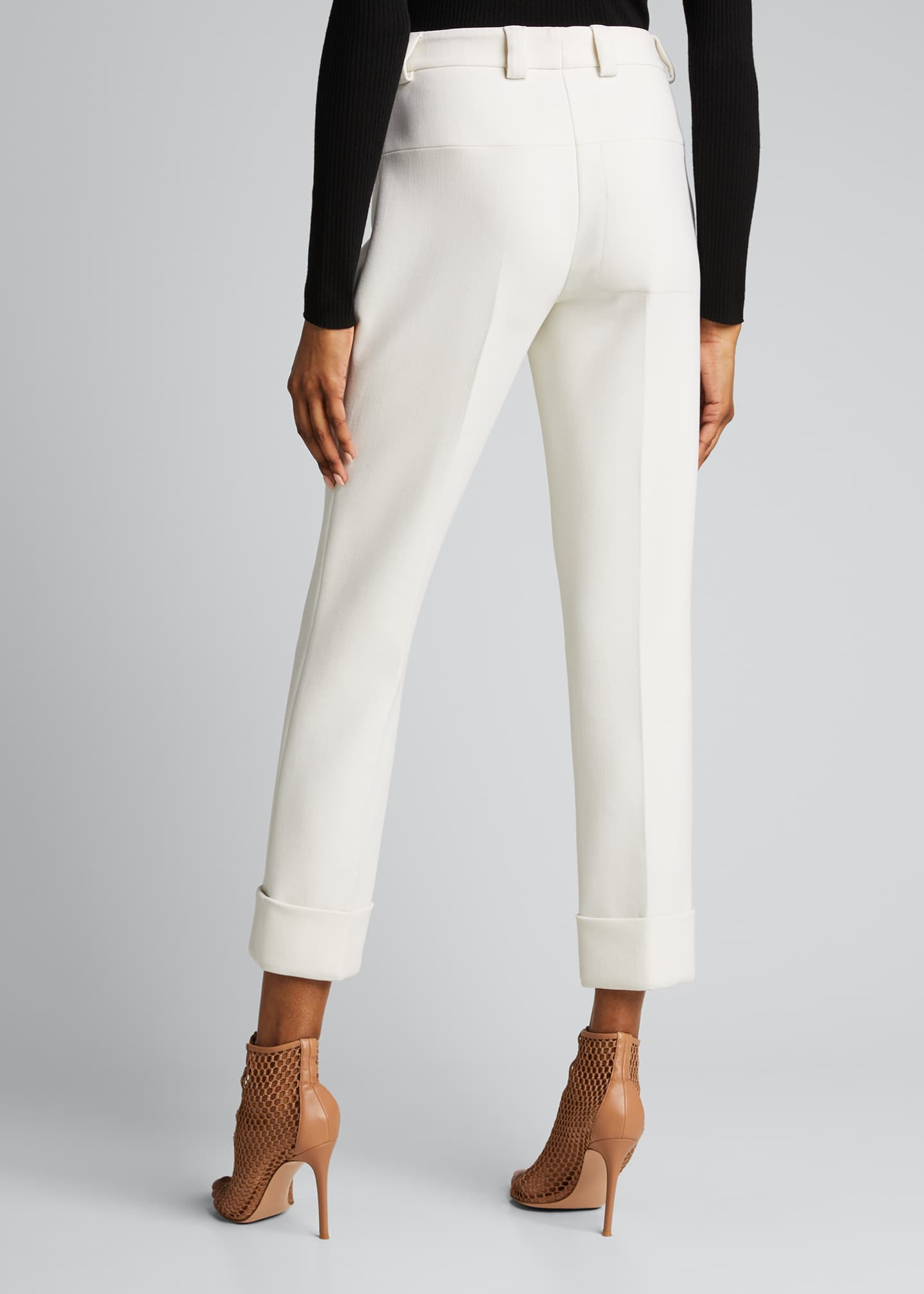 Image 2 of 5: Maxima Slim-Fit Cropped Pants