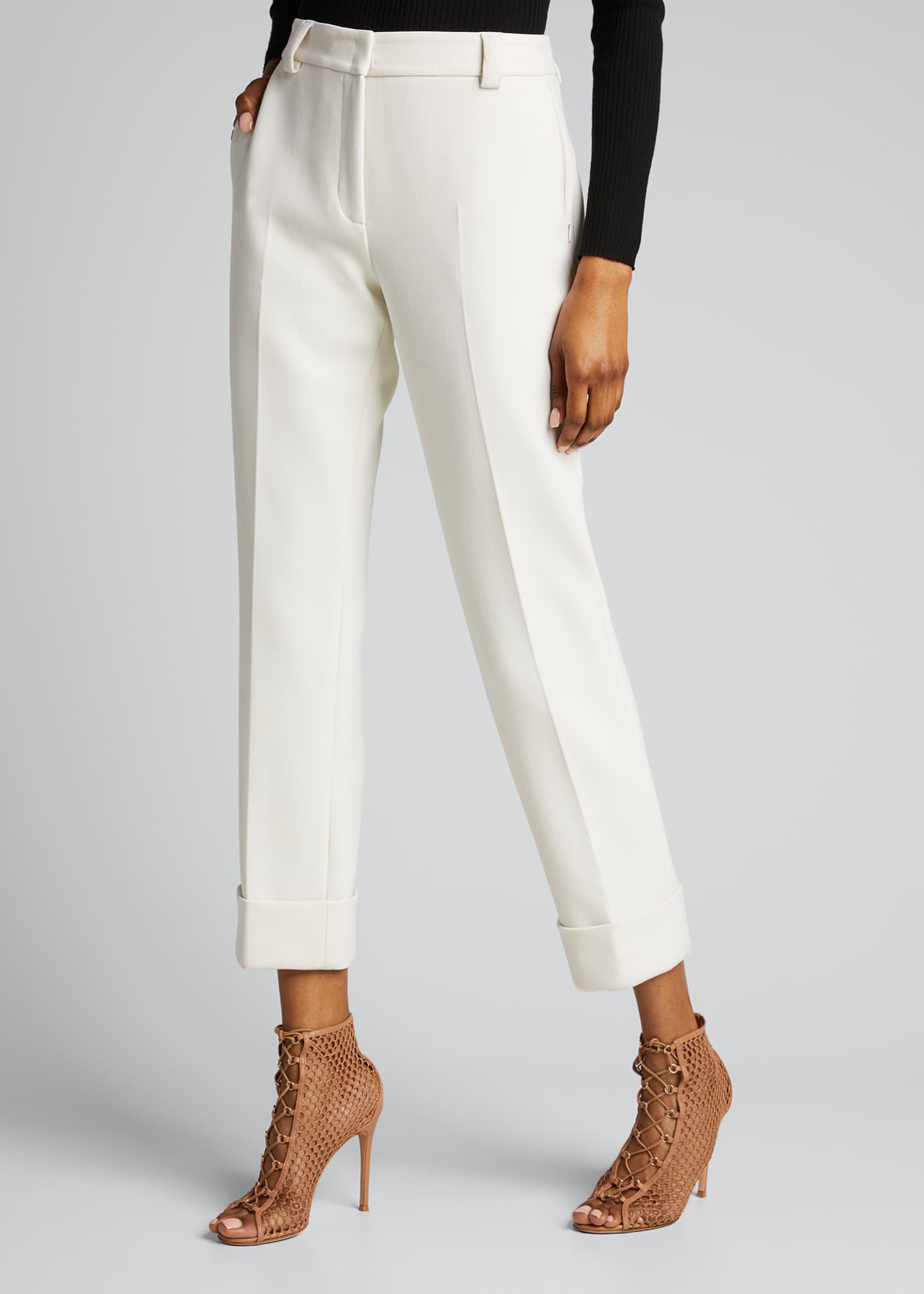 Image 3 of 5: Maxima Slim-Fit Cropped Pants