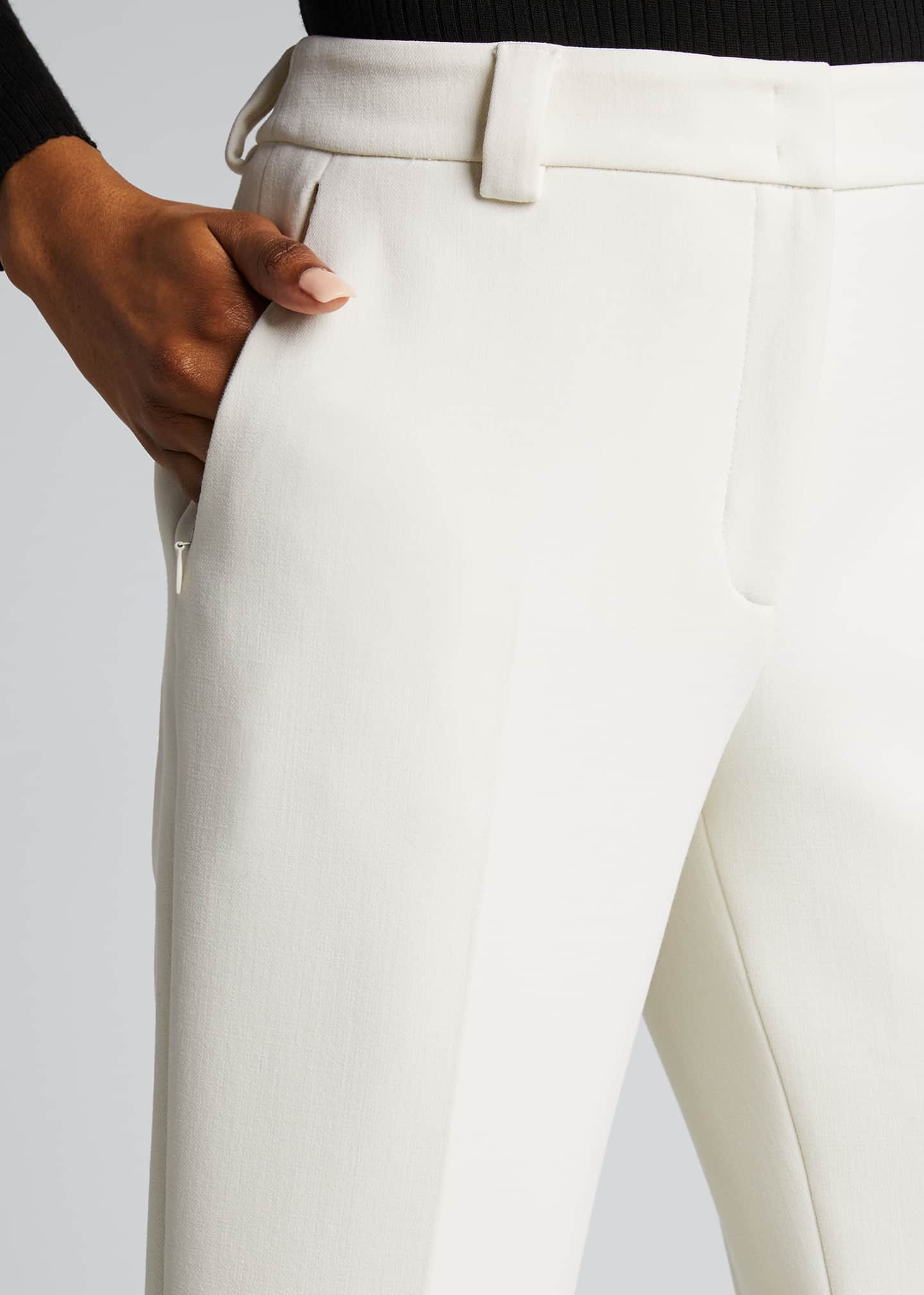 Image 4 of 5: Maxima Slim-Fit Cropped Pants