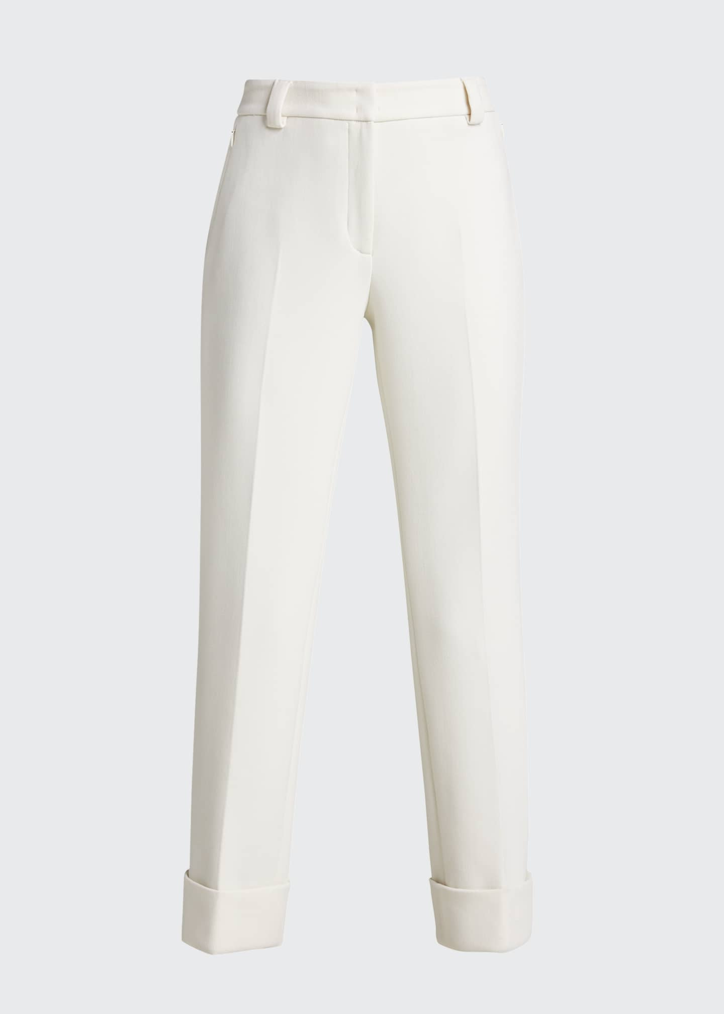 Image 5 of 5: Maxima Slim-Fit Cropped Pants