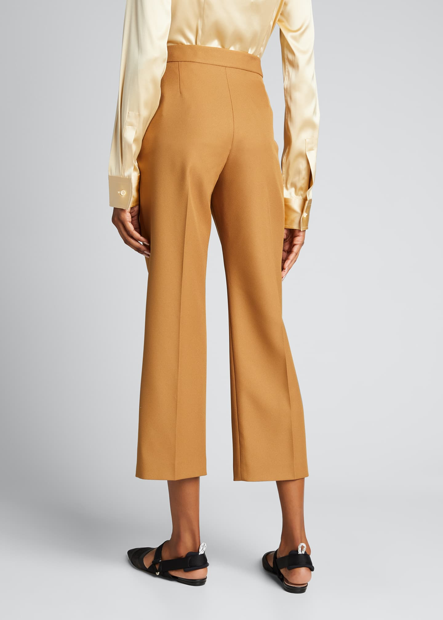 Image 2 of 5: Straight-Leg Cropped Pants