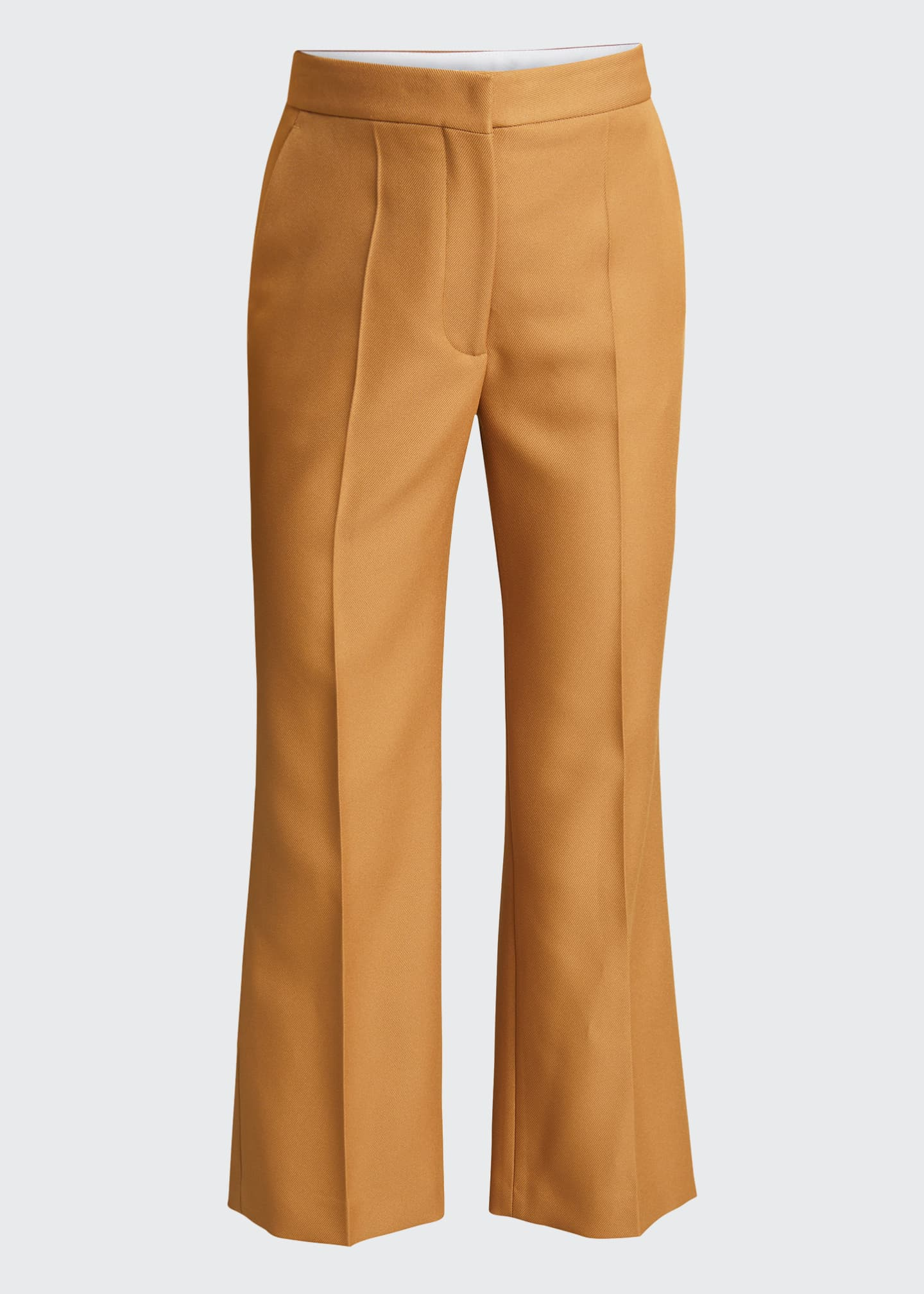 Image 5 of 5: Straight-Leg Cropped Pants