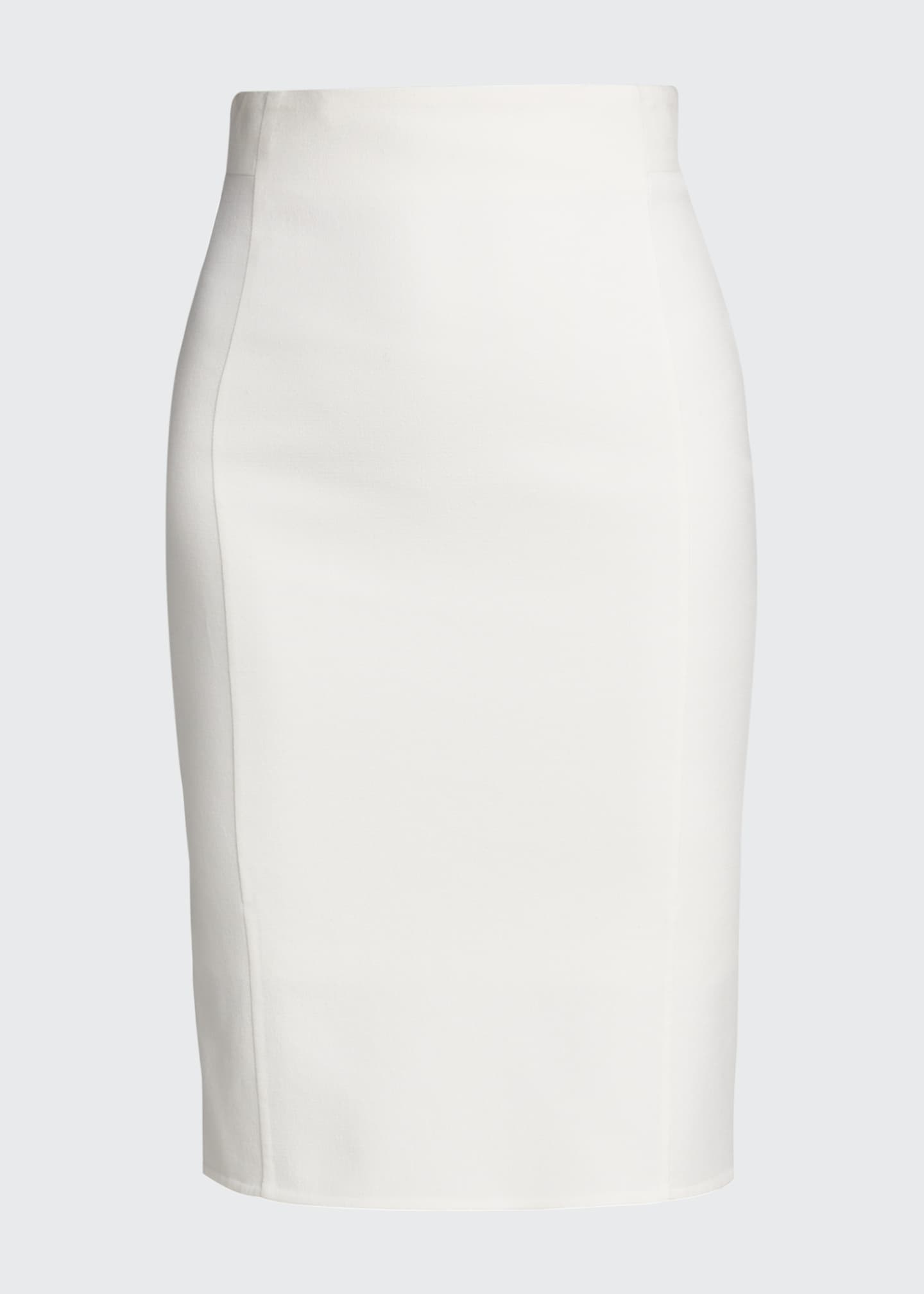 Image 5 of 5: Double-Face Pencil Skirt