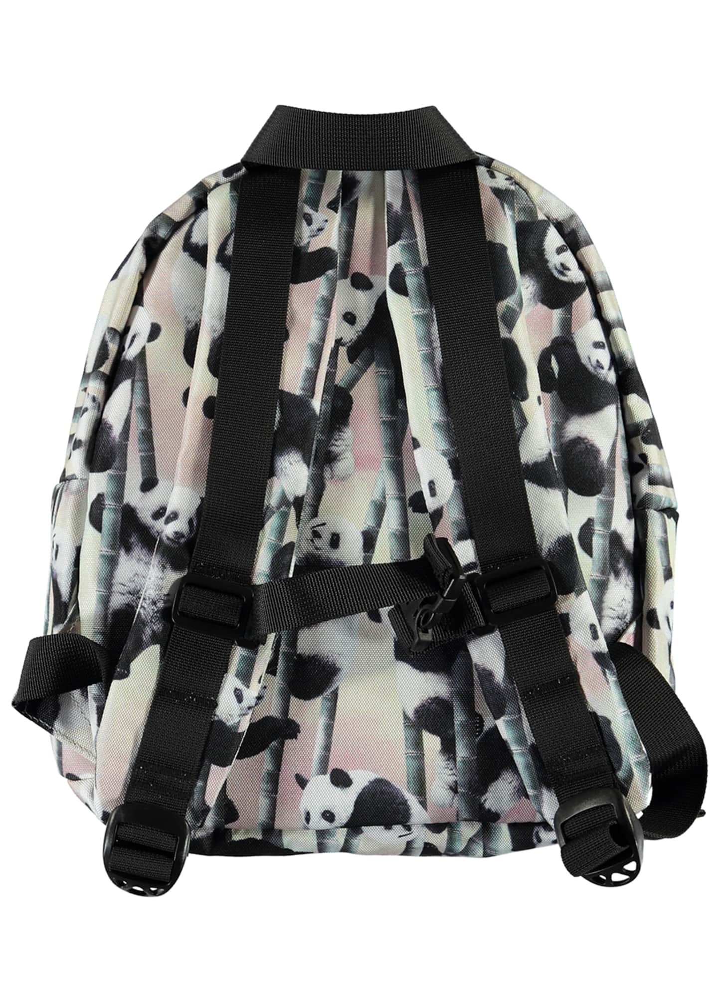 Image 2 of 2: Kid's Panda-Print Small Backpack