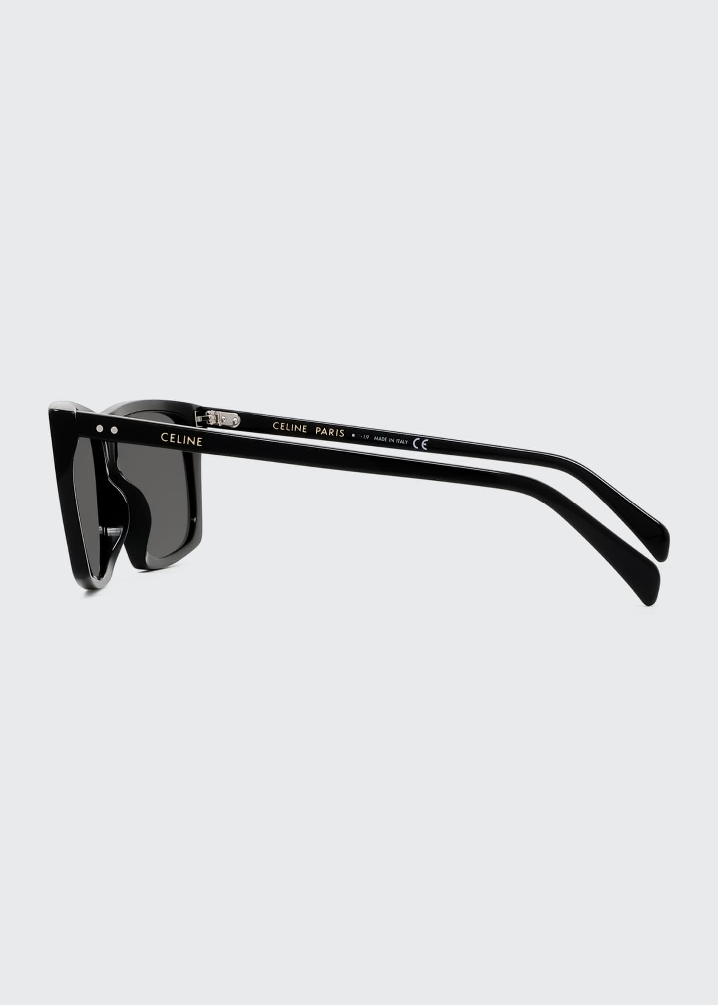 Image 3 of 4: Oversized Square Acetate International-Fit Sunglasses
