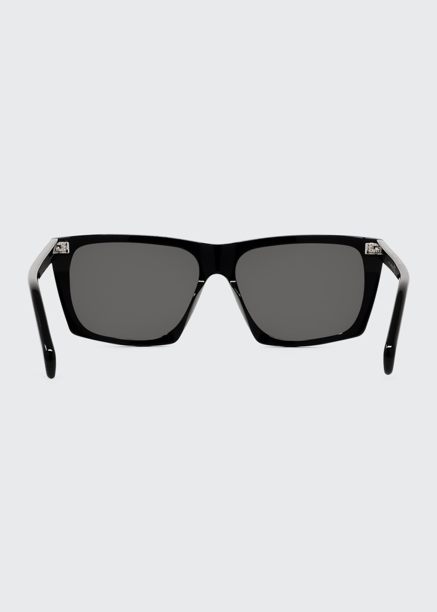 Image 4 of 4: Oversized Square Acetate International-Fit Sunglasses