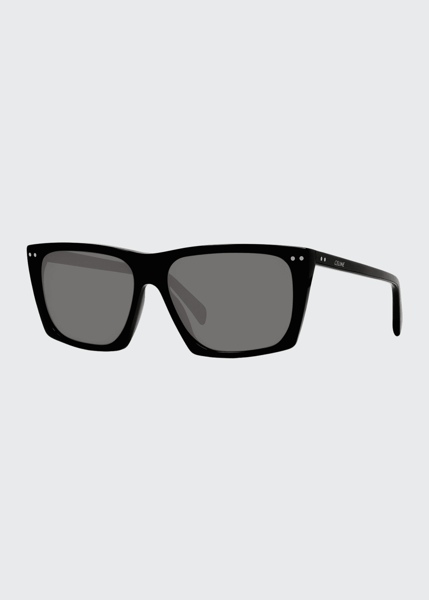 Image 1 of 4: Oversized Square Acetate International-Fit Sunglasses