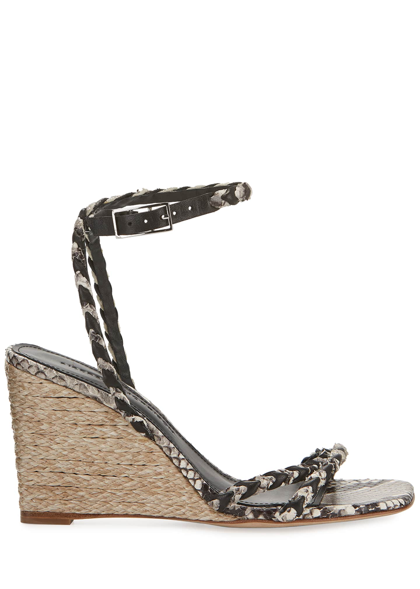 Image 2 of 5: Justice Wedge Sandals