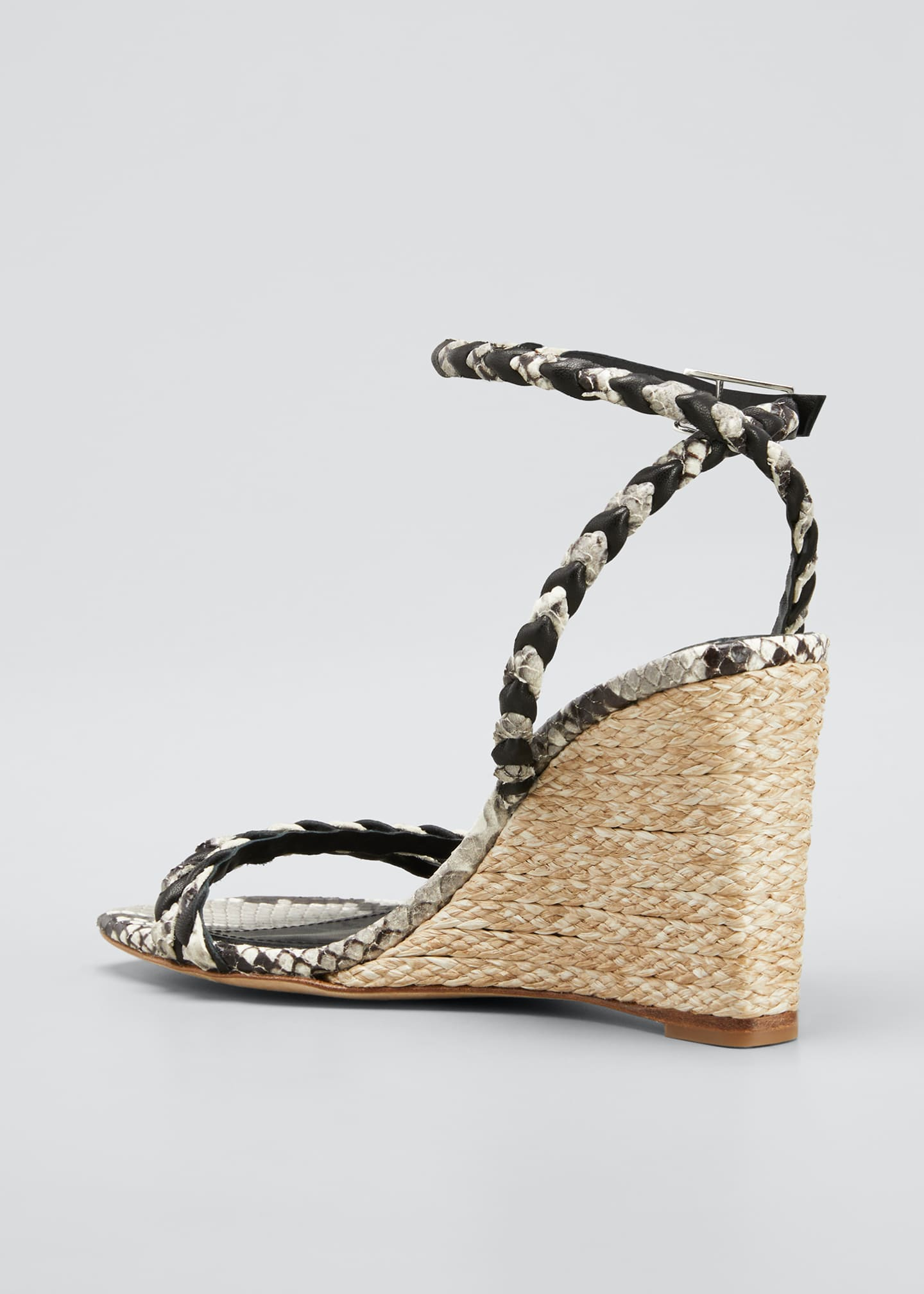 Image 4 of 5: Justice Wedge Sandals