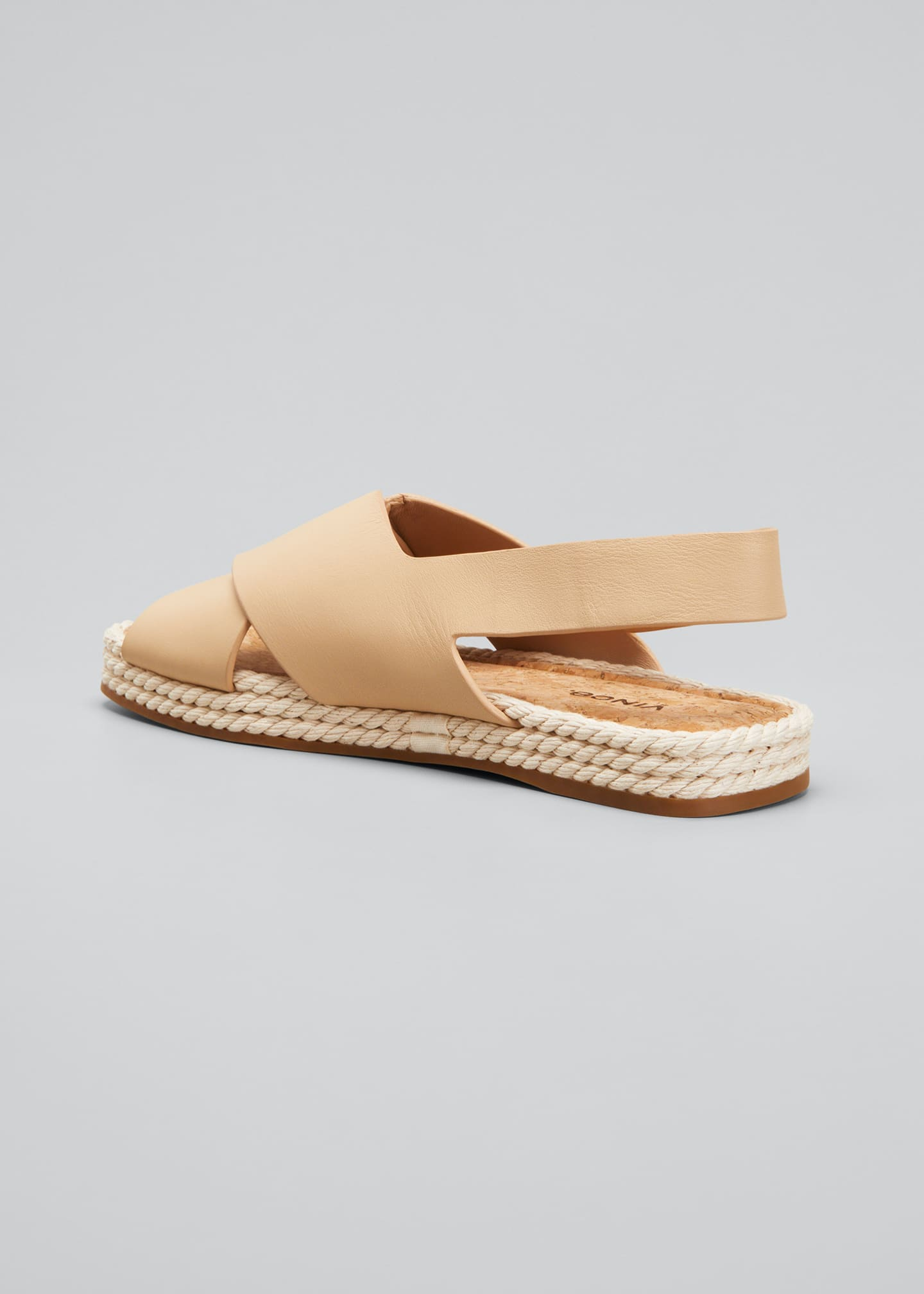 Image 2 of 3: Essen Crisscross Espadrille Flat Sandals