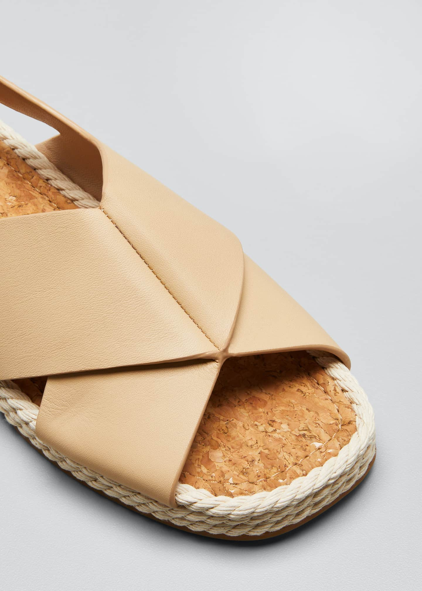 Image 3 of 3: Essen Crisscross Espadrille Flat Sandals