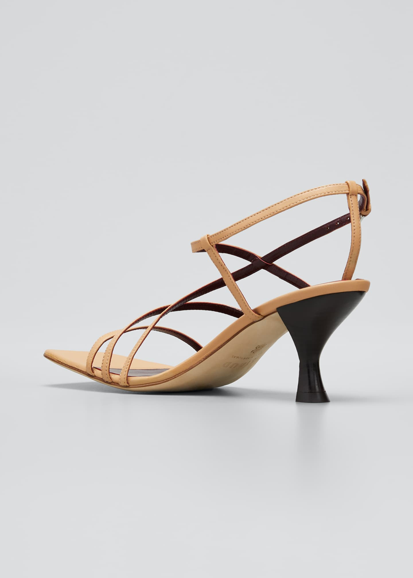 Image 4 of 5: 60mm Multi-Strap Sandals