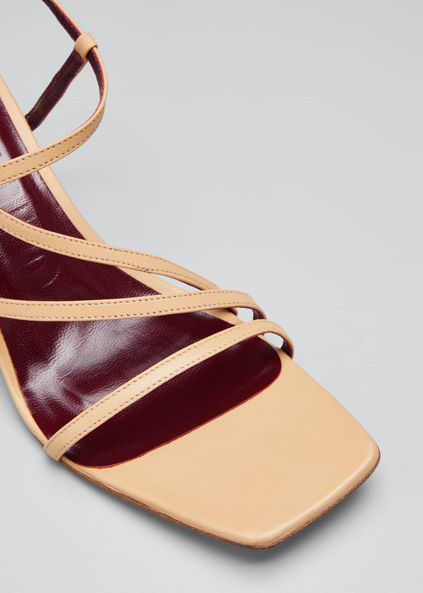 Image 5 of 5: 60mm Multi-Strap Sandals