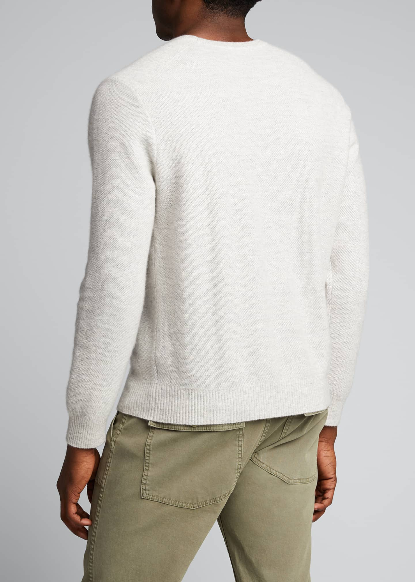Image 2 of 5: Men's Tuck-Stitch Sweater