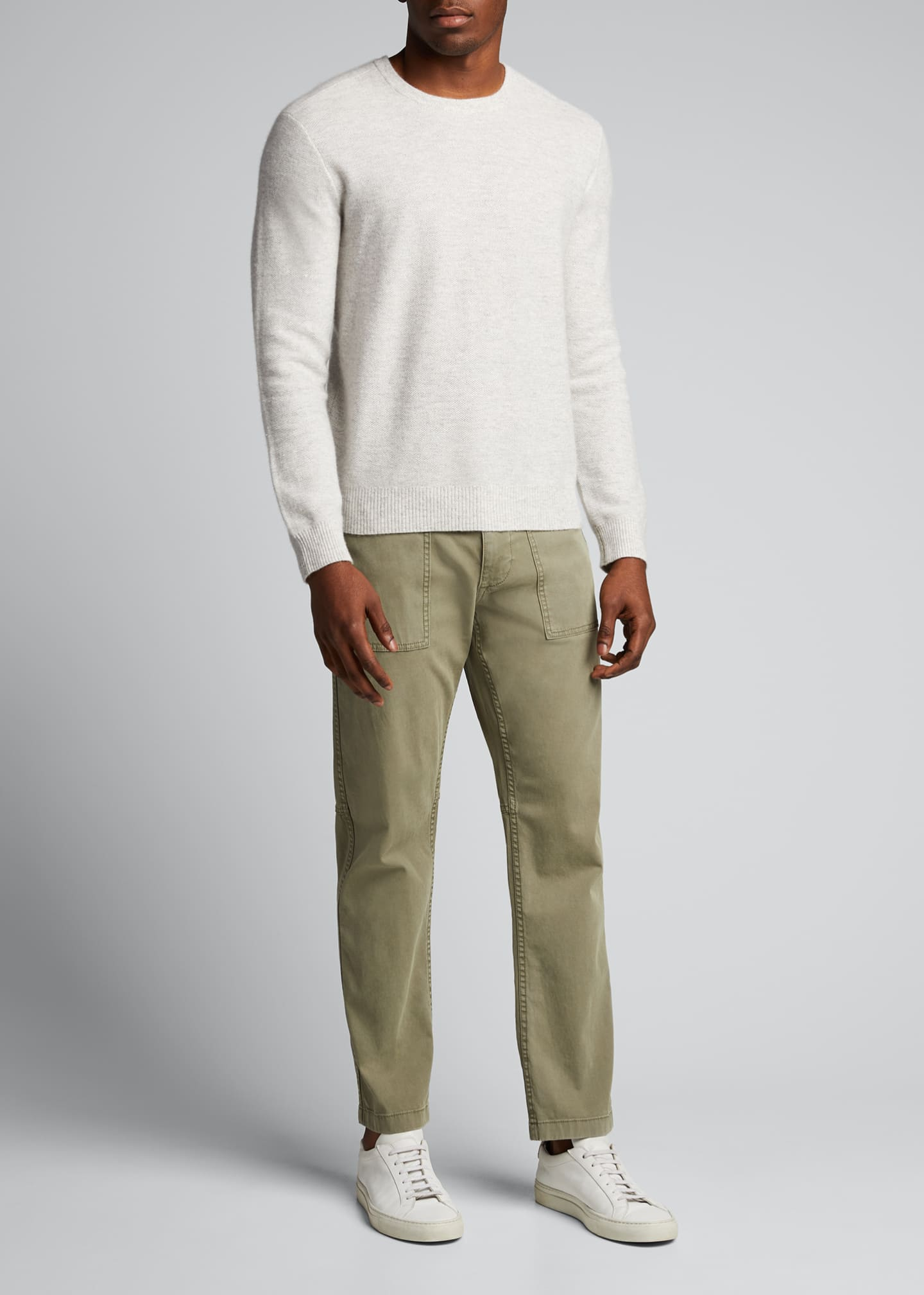 Men's Tuck-Stitch Sweater