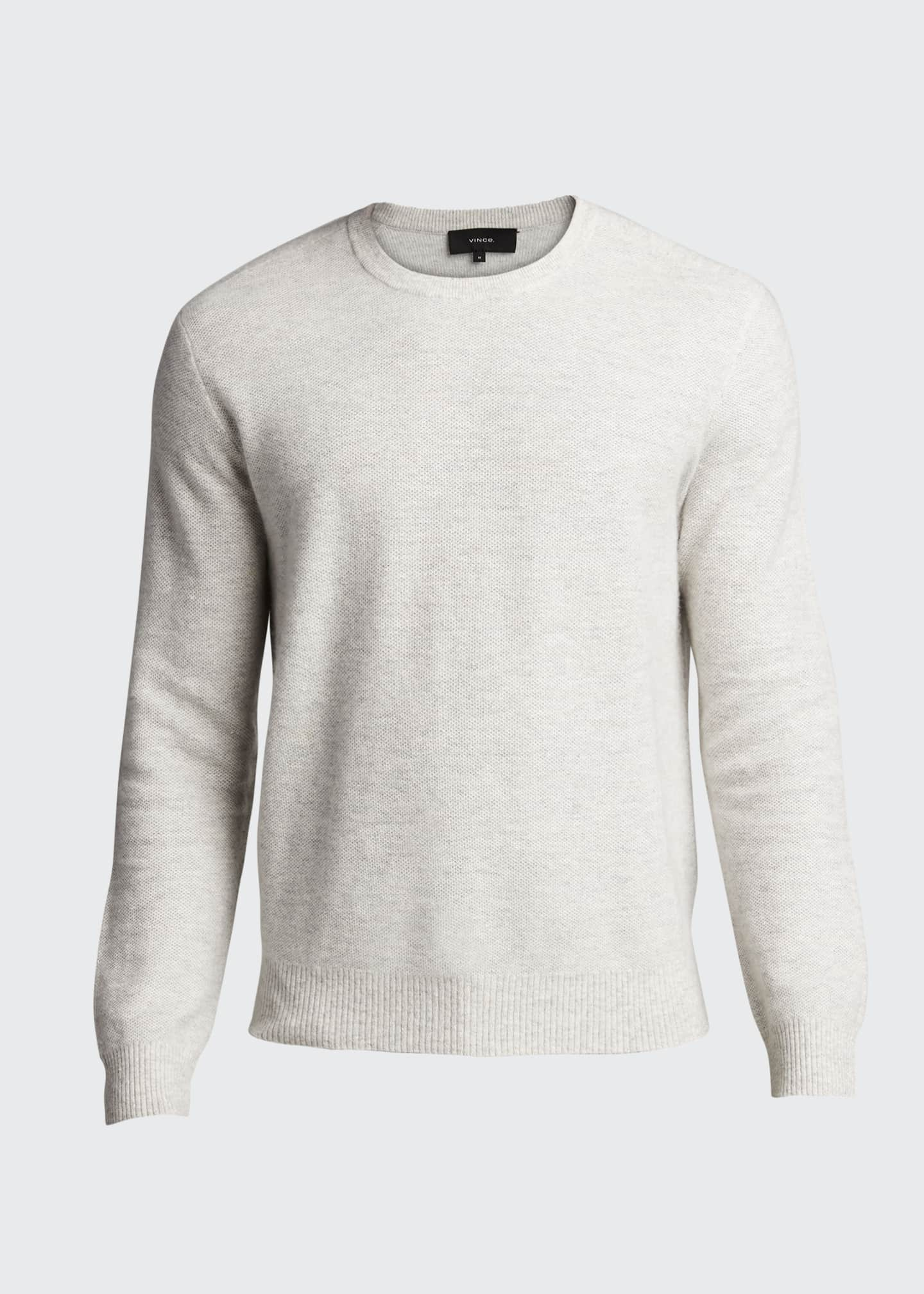 Image 5 of 5: Men's Tuck-Stitch Sweater