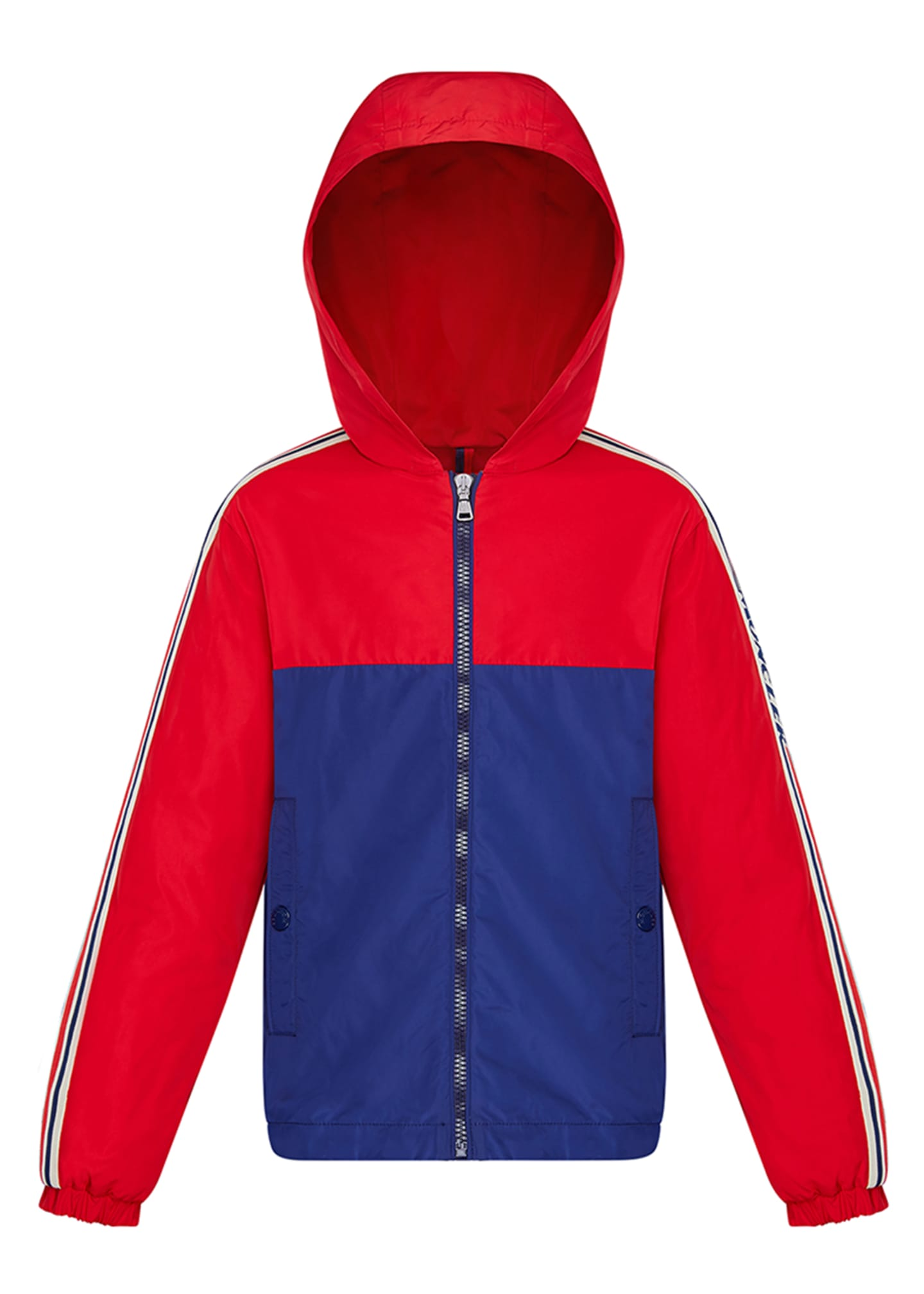 Boy's Gittaz Two-Tone Logo Tape Jacket, Size 4-6