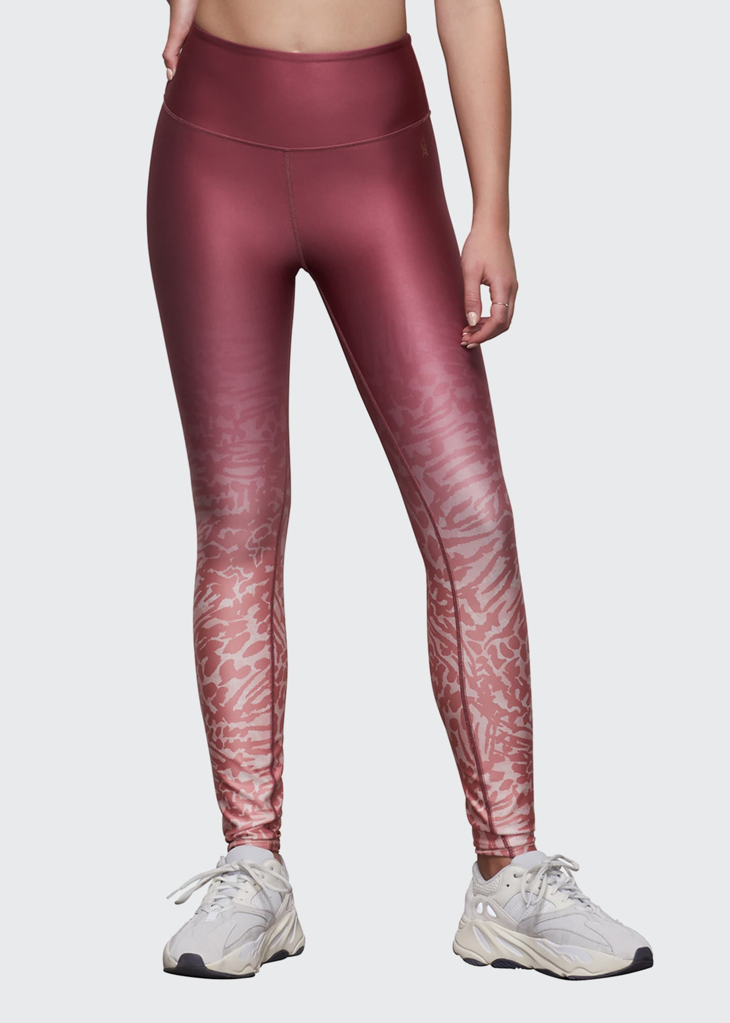 Image 1 of 3: Ombre Printed Leggings - Inclusive Sizing