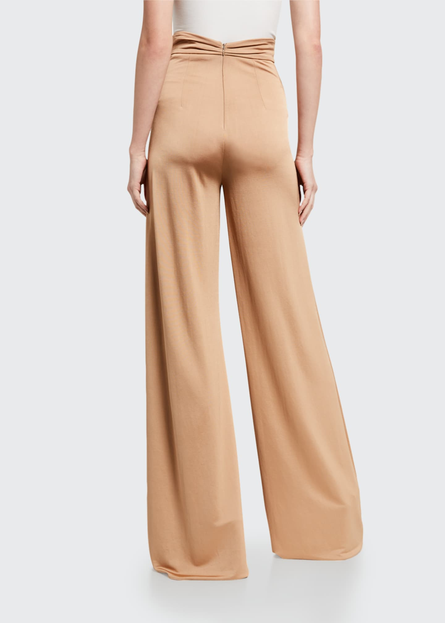 Image 2 of 2: Camilo High-Rise Wide-Leg Pants