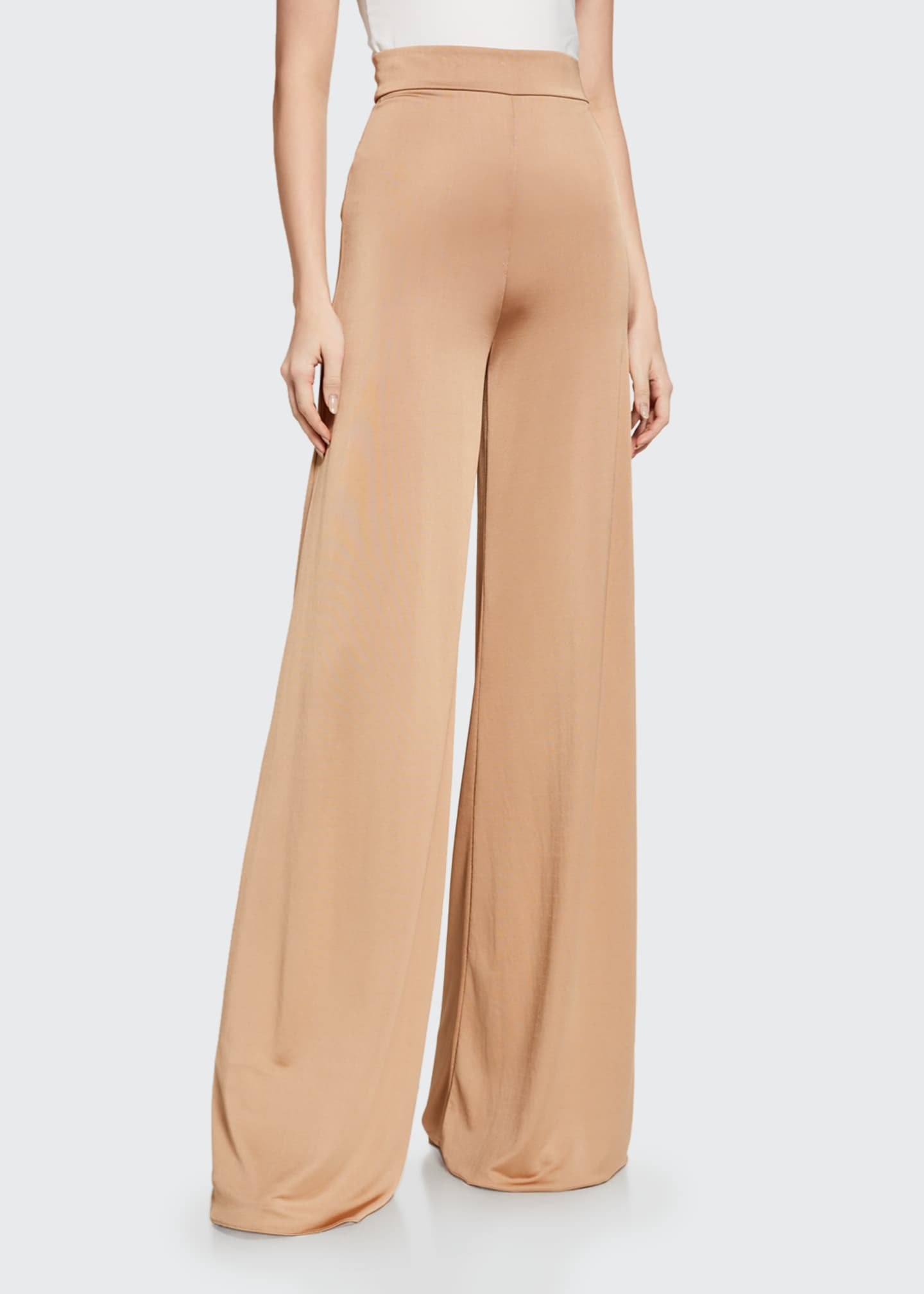 Image 1 of 2: Camilo High-Rise Wide-Leg Pants