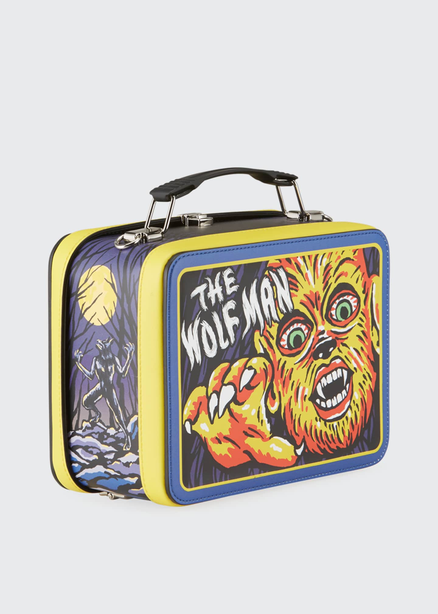 Image 3 of 4: Men's x Universal Studios The Wolf Man Lunch Box Shoulder Bag