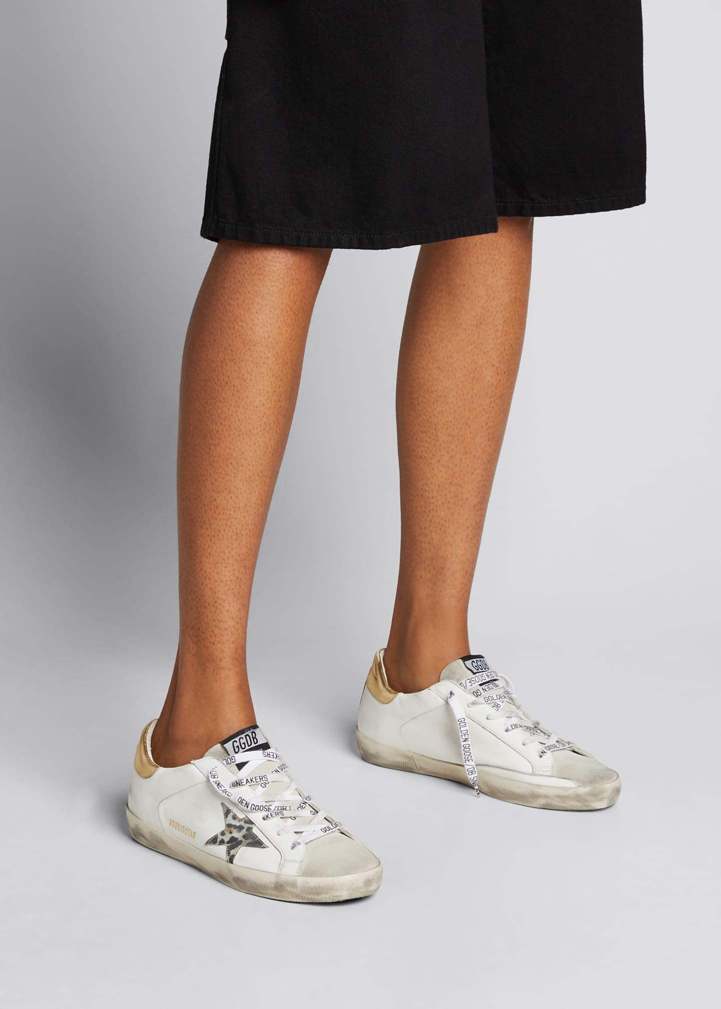 Image 2 of 5: Superstar Leo-Star Leather Low-Top Sneakers