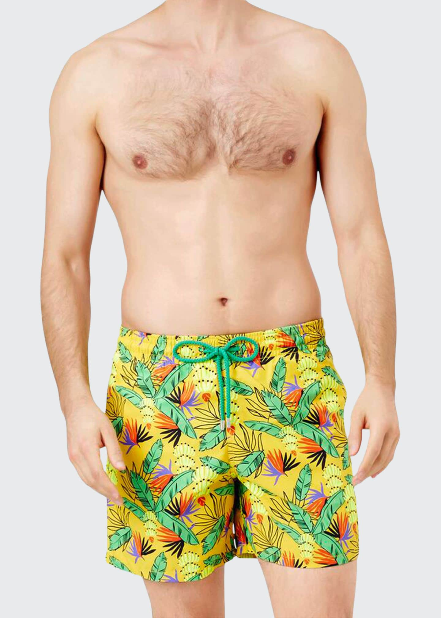Image 1 of 2: Men's Moorea Go Bananas Swim Trunks