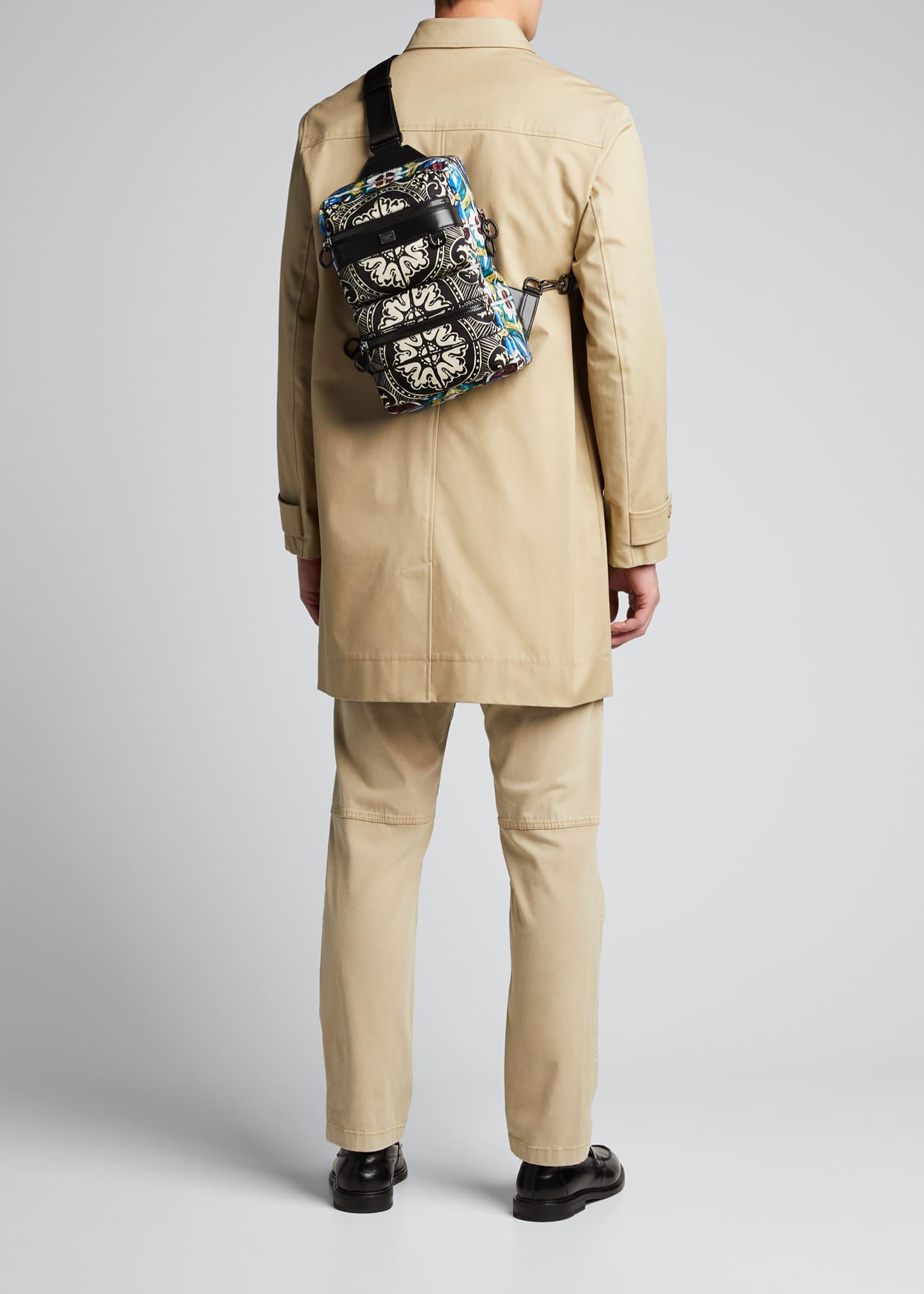 Dolce Amp Gabbana Men S Marsupio Majolica Fanny Pack Belt