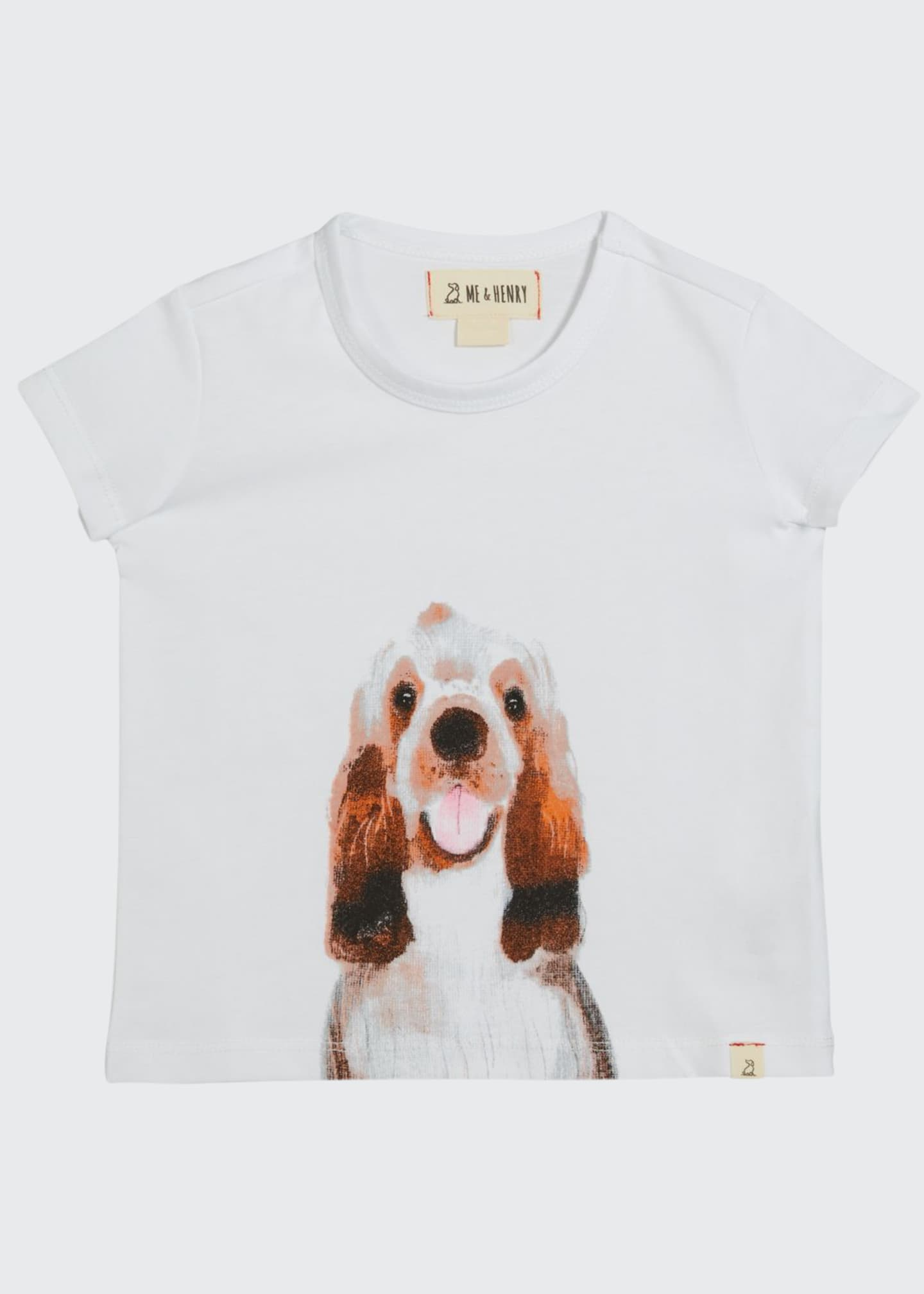 Image 1 of 1: Boy's Dog Graphic T-Shirt w/ Children's Book, Size 0-6