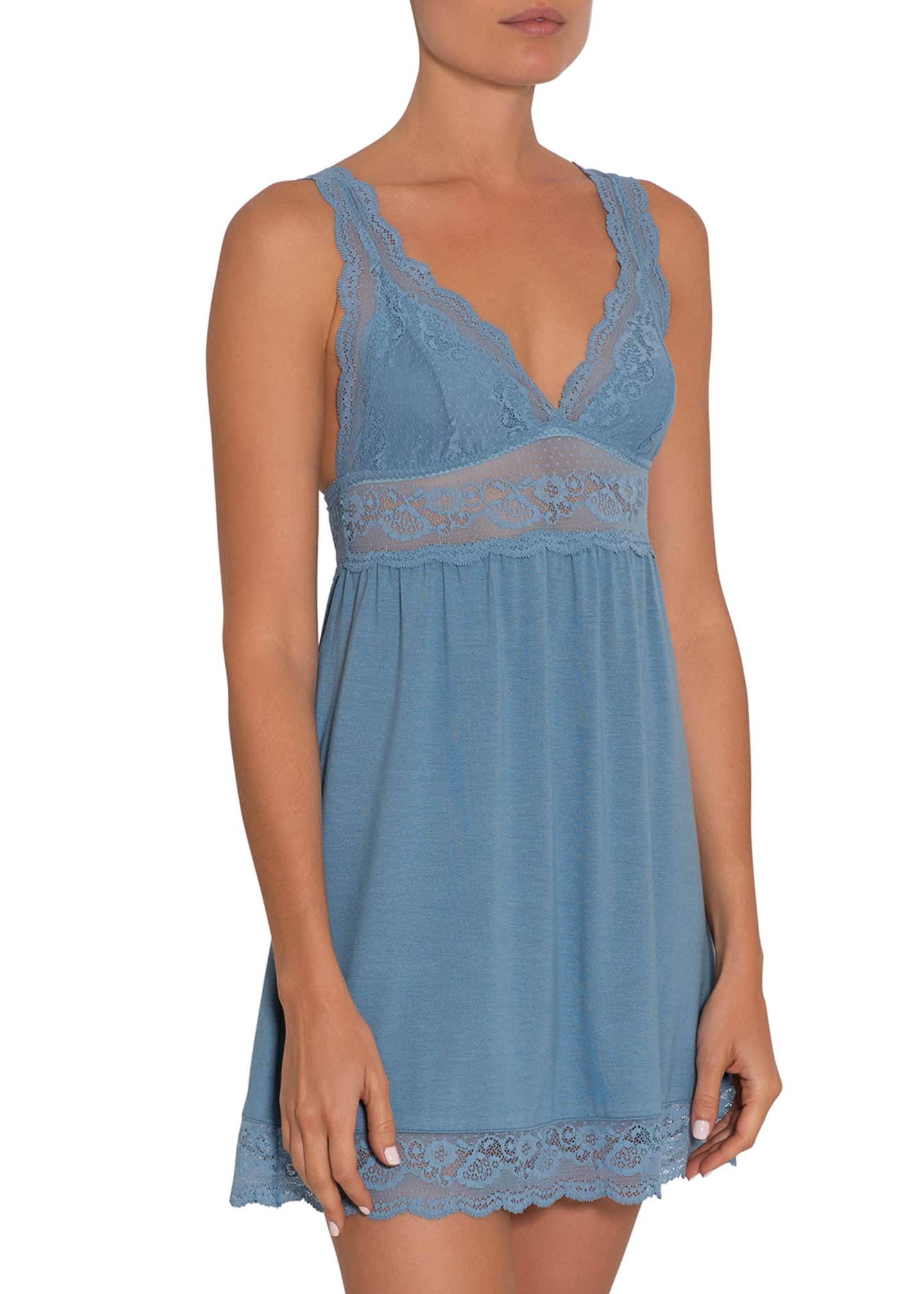 Image 1 of 2: Anouk Highline Lace Chemise