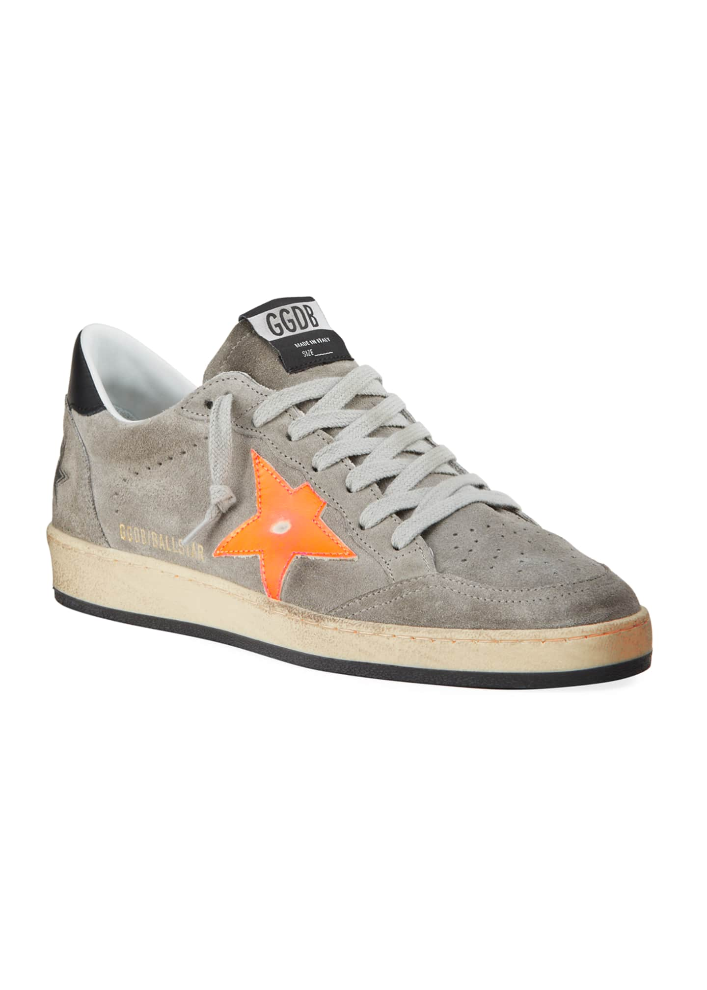 Image 2 of 4: Men's Ball Star Vintage Suede Sneakers